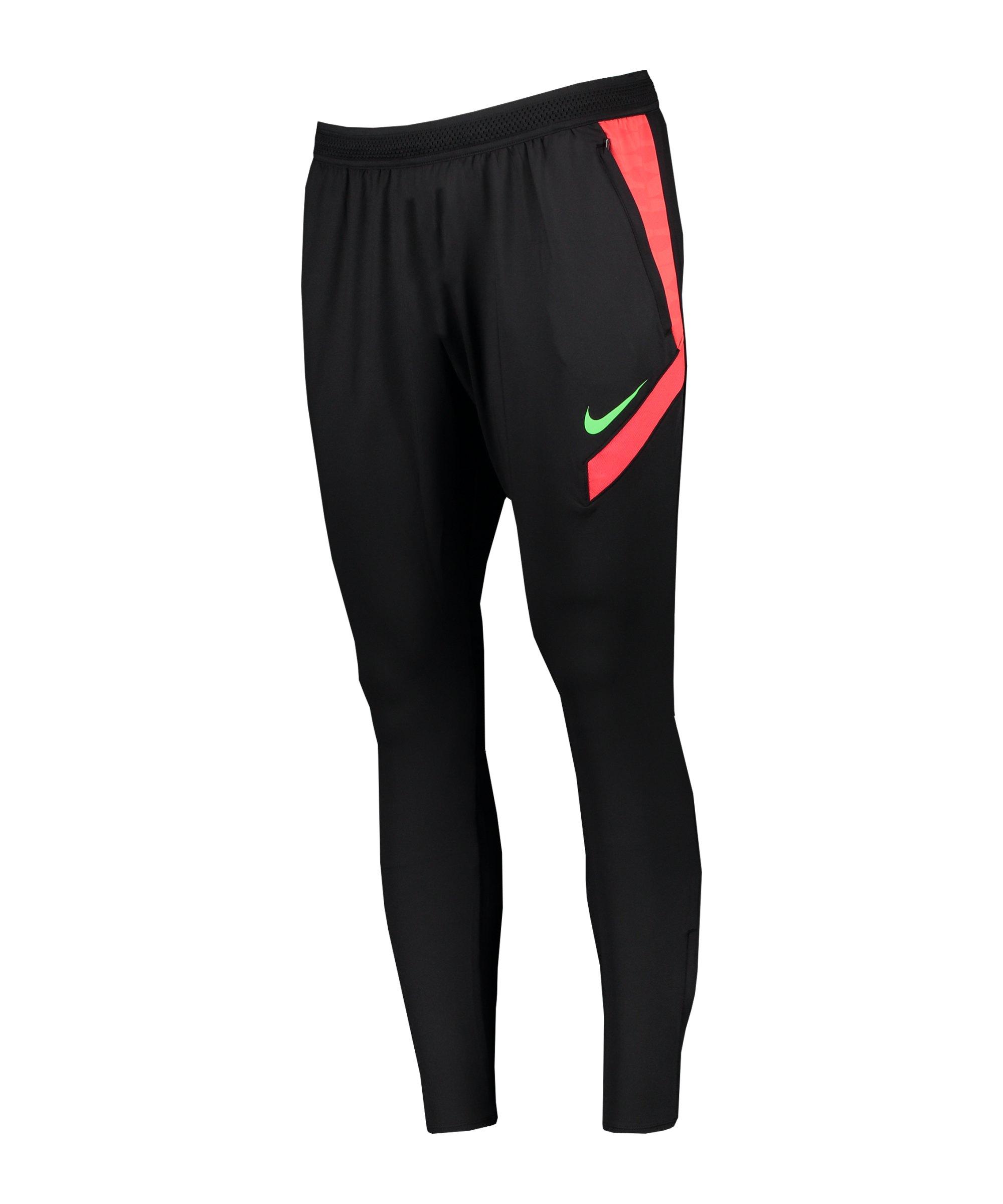 Nike Strike 21 Trainingshose Damen Schwarz F013 - schwarz