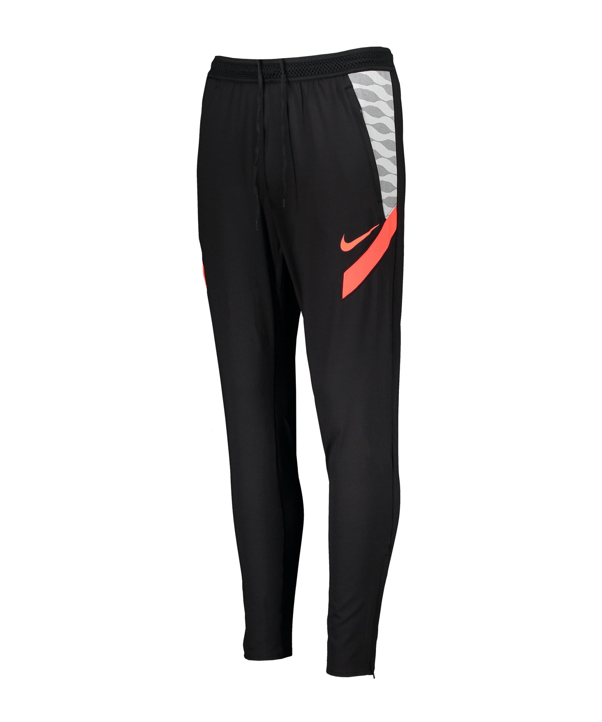 Nike Strike 21 Trainingshose Damen Schwarz F015 - schwarz