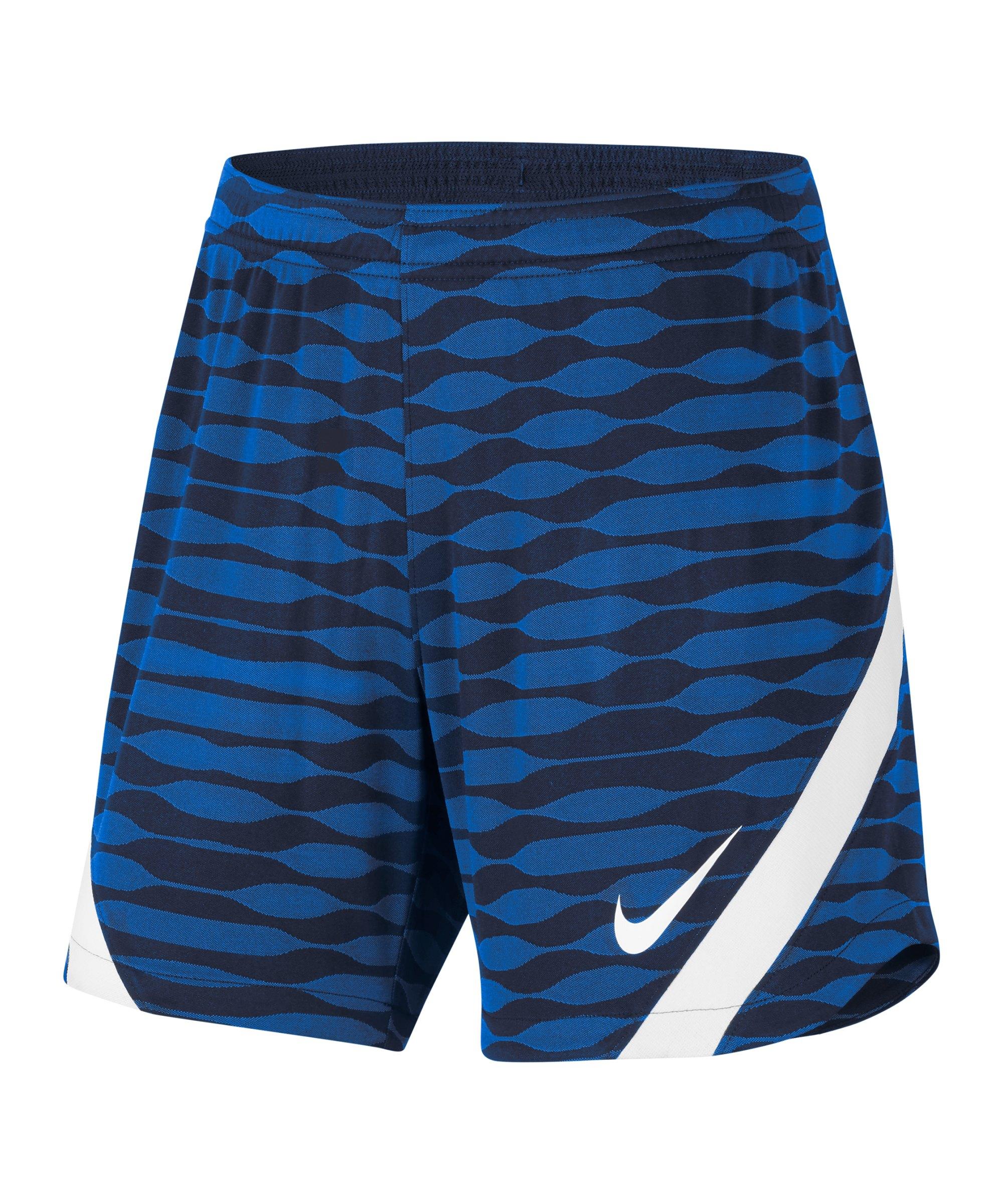 Nike Strike 21 Knit Short Damen Blau Weiss F451 - blau