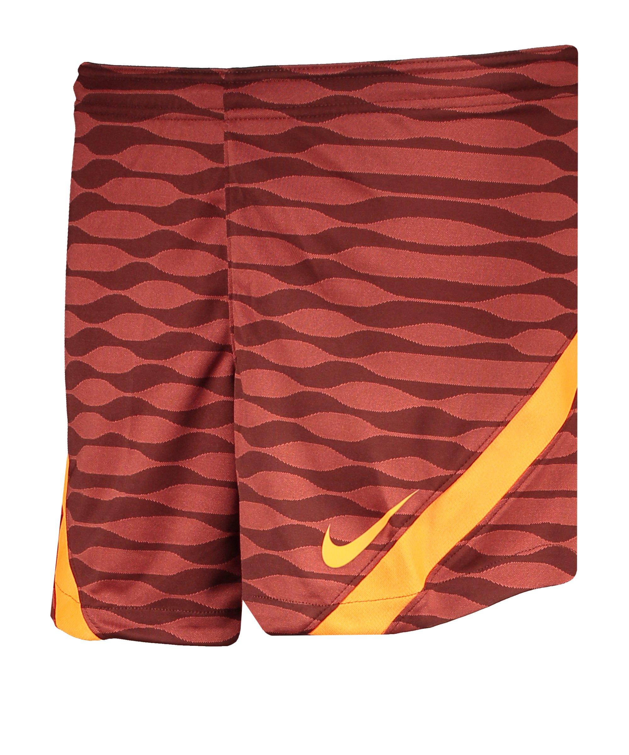 Nike Strike 21 Knit Short Damen Braun Rot F273 - braun