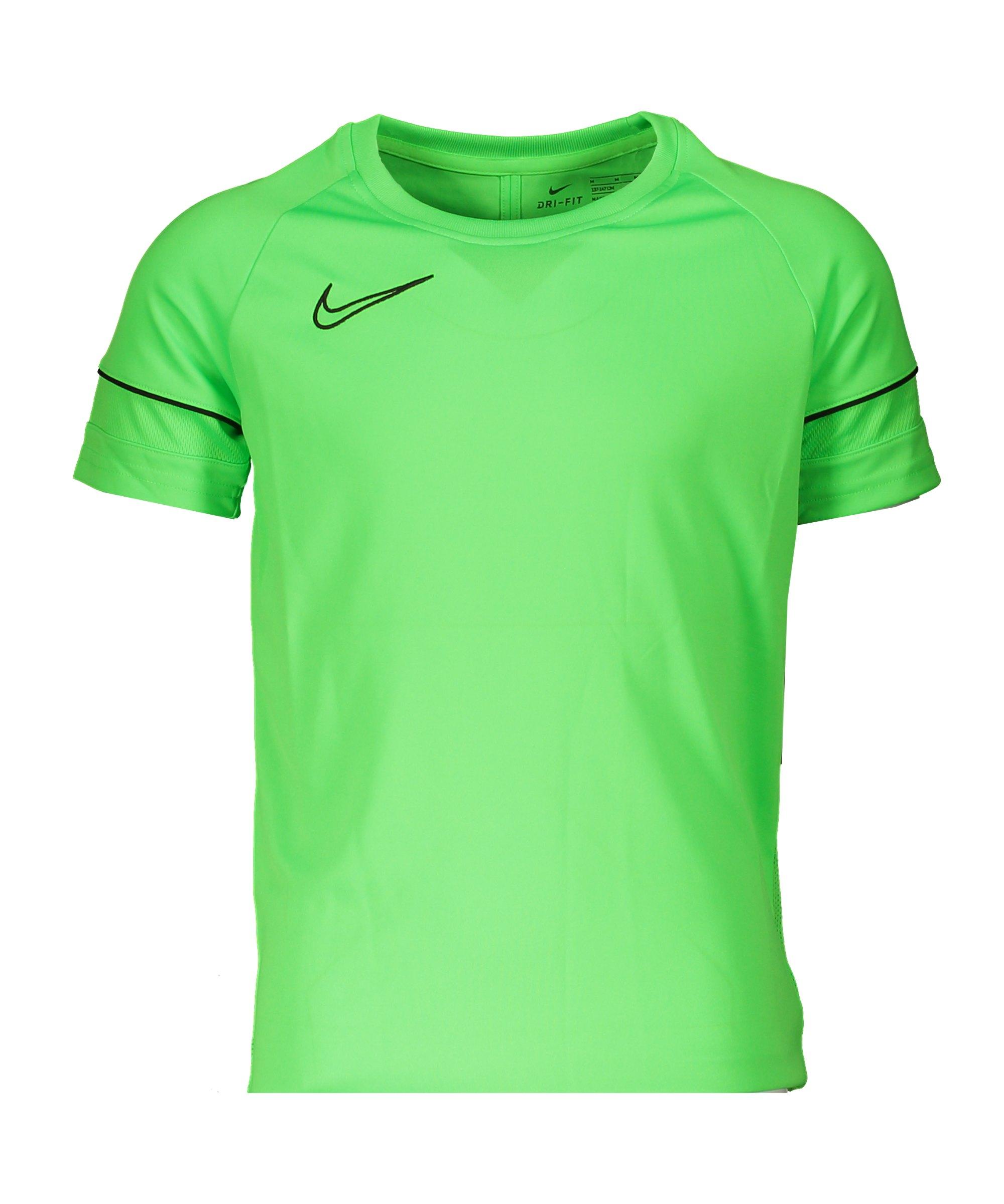 Nike Academy 21 T-Shirt Kids Grün F398 - gruen