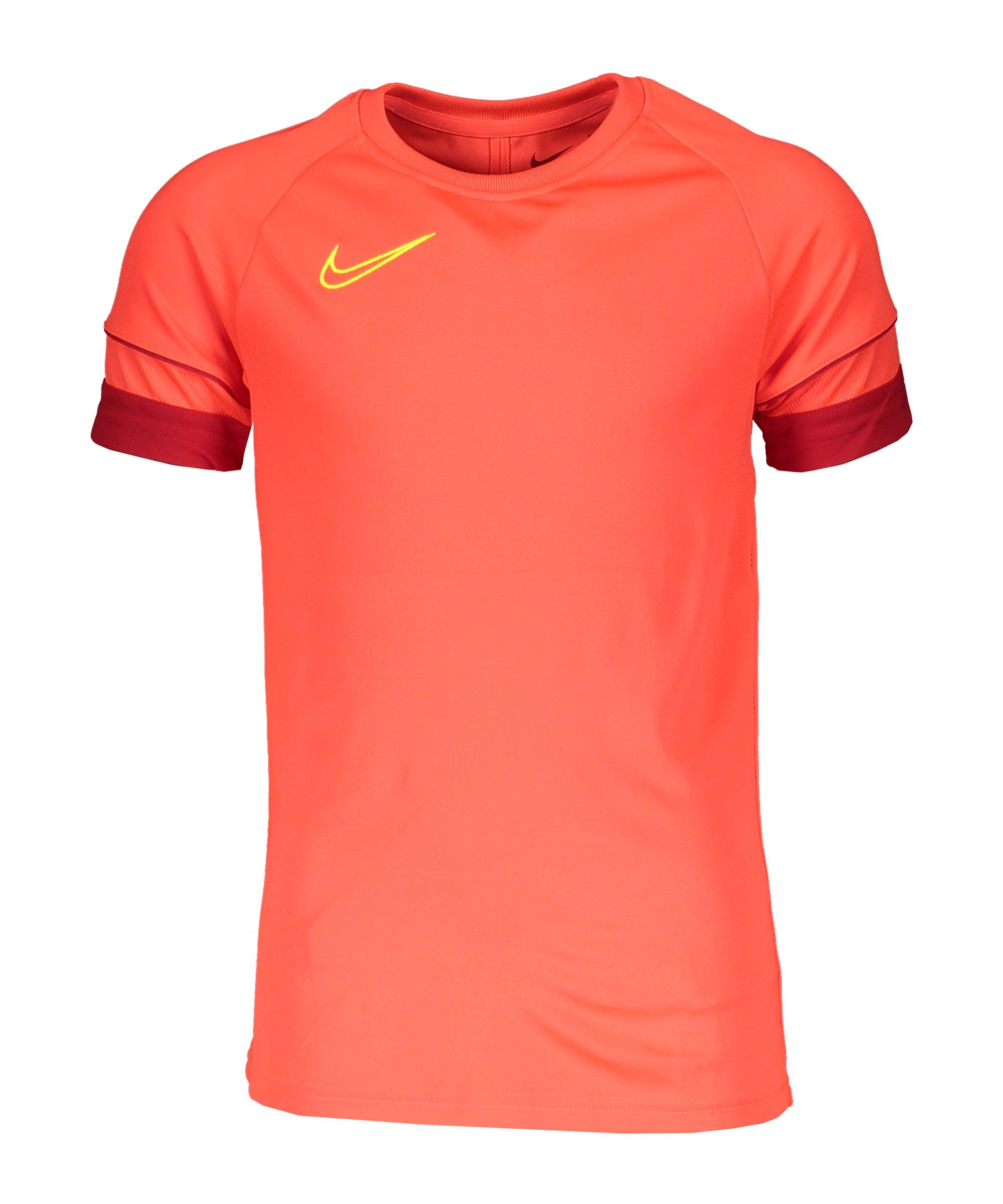 Nike Academy 21 T-Shirt Kids Rot F635 - rot