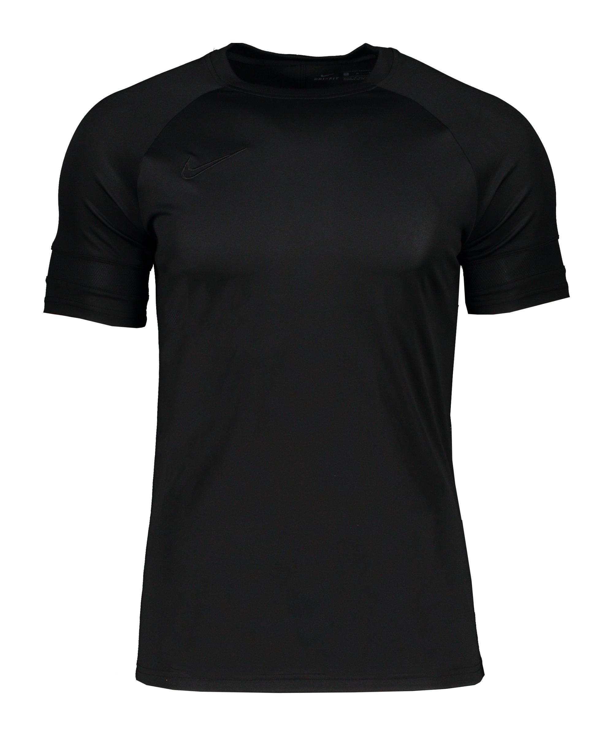Nike Academy 21 T-Shirt Kids Schwarz F011 - schwarz