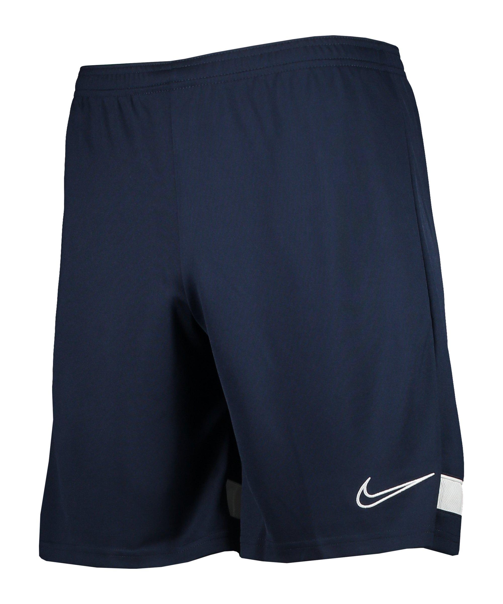 Nike Academy 21 Short Blau Weiss F451 - blau