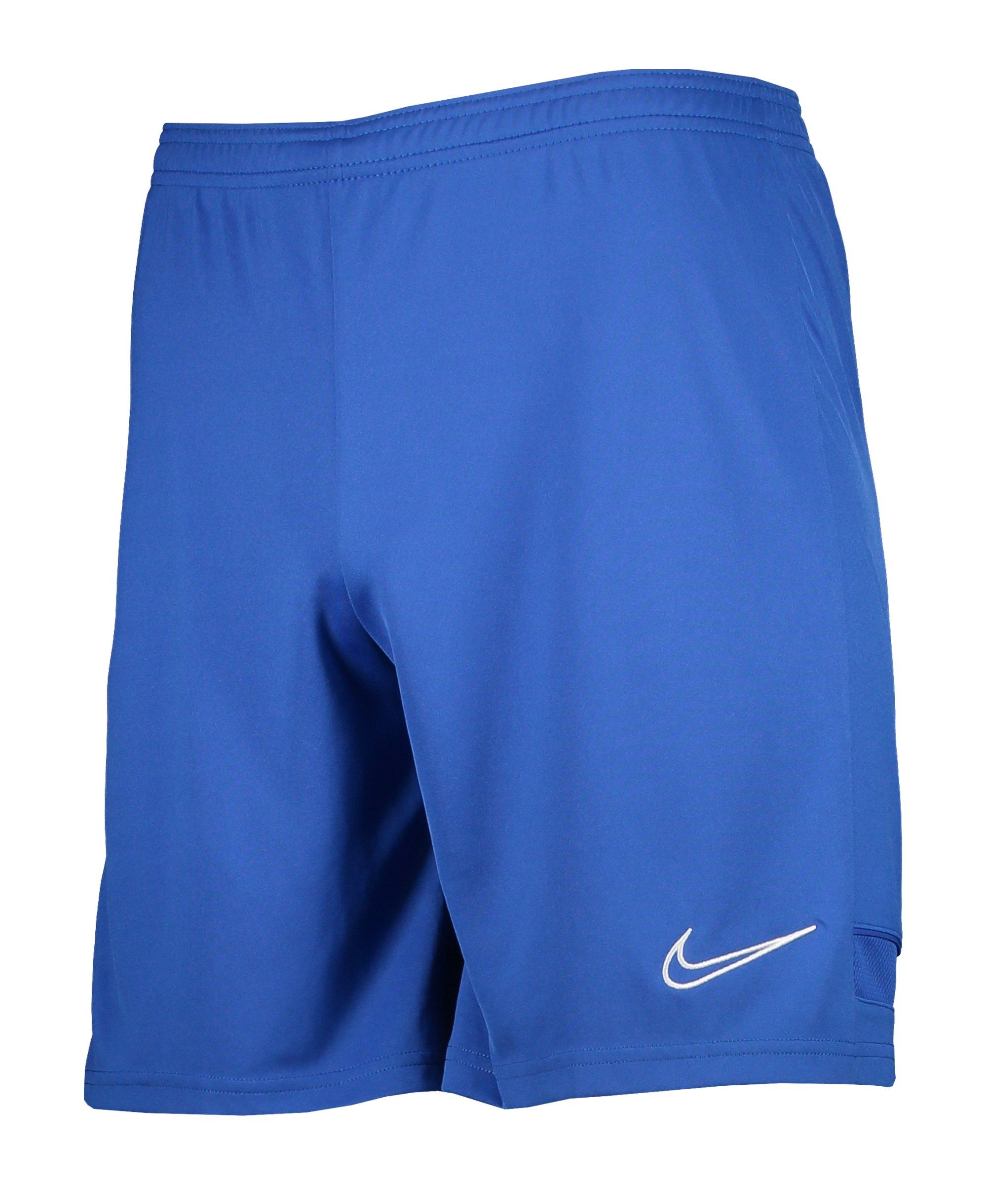Nike Academy 21 Short Blau Weiss F480 - blau