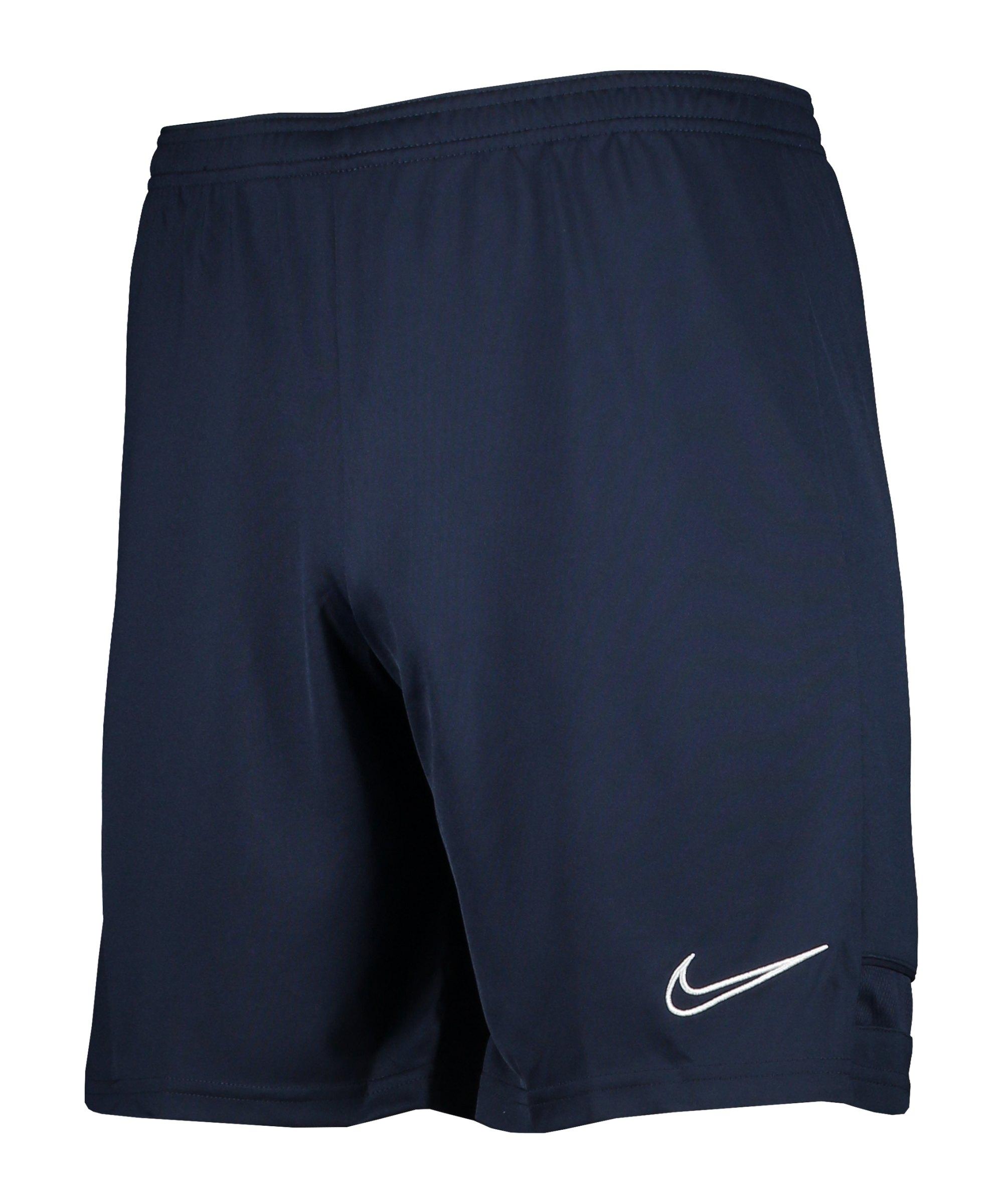Nike Academy 21 Short Kids Blau Weiss F452 - blau