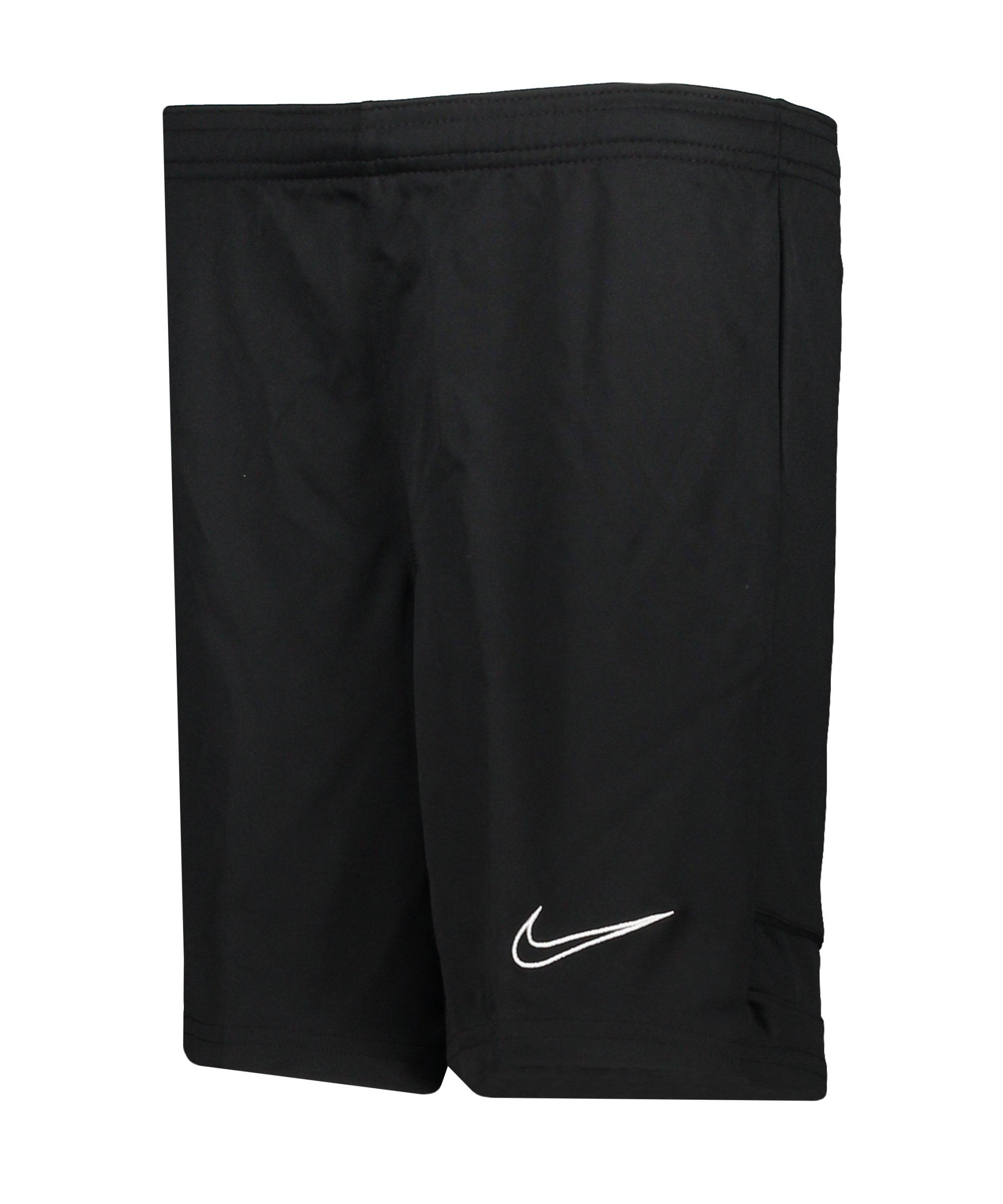 Nike Academy 21 Short Kids Schwarz F011 - schwarz