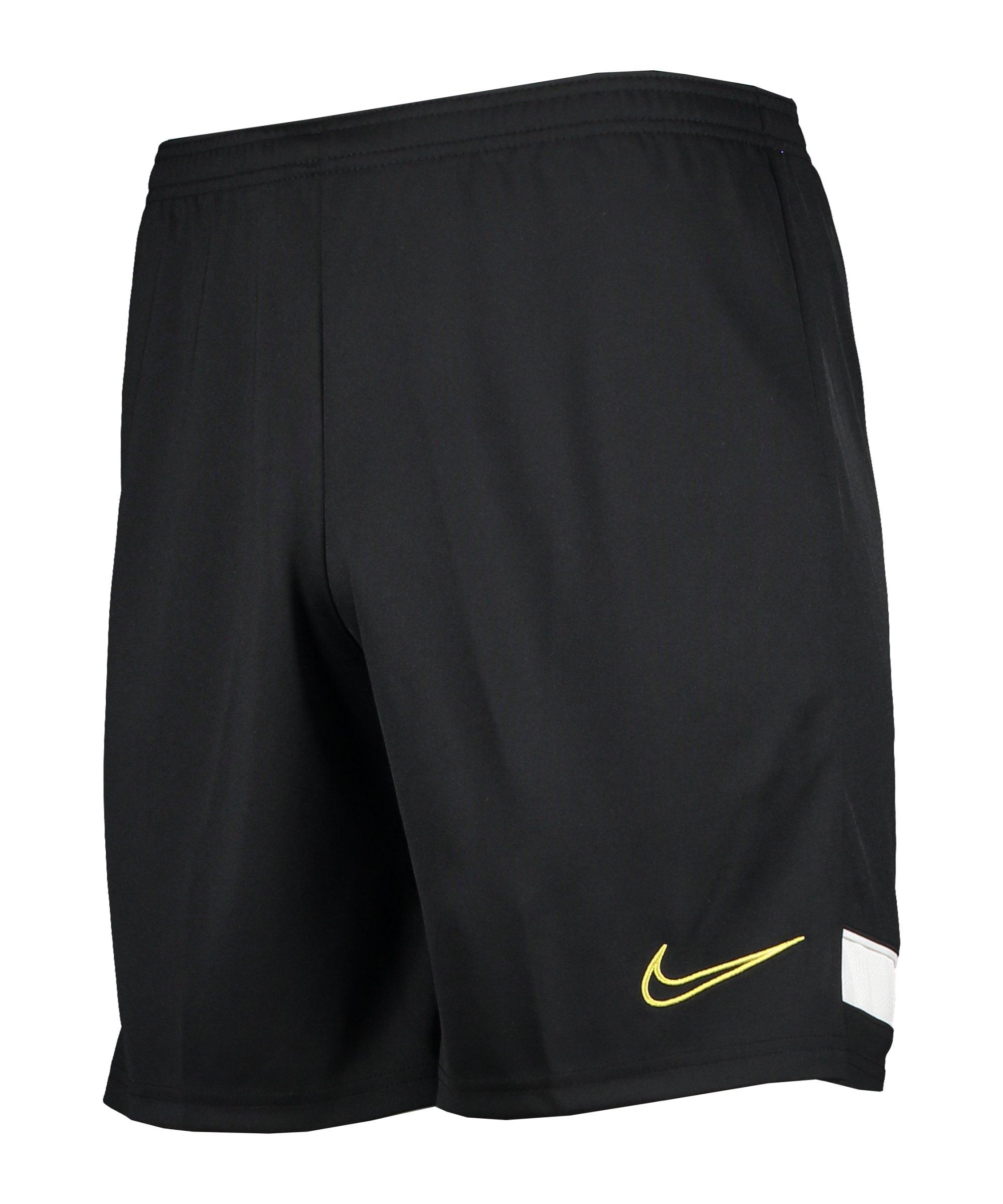 Nike Academy 21 Short Kids Schwarz F015 - schwarz