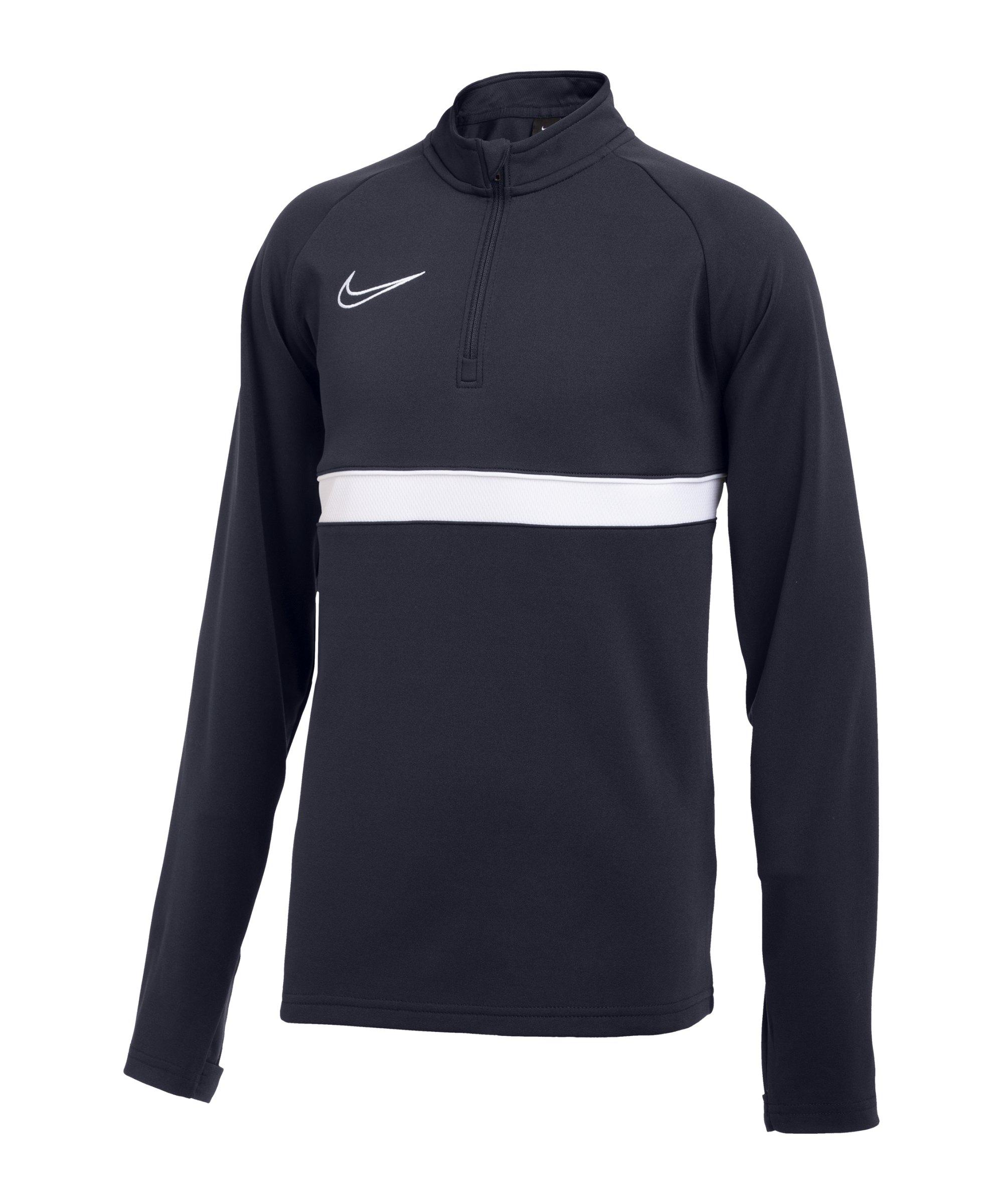 Nike Academy 21 Drill Top Blau Weiss F451 - blau