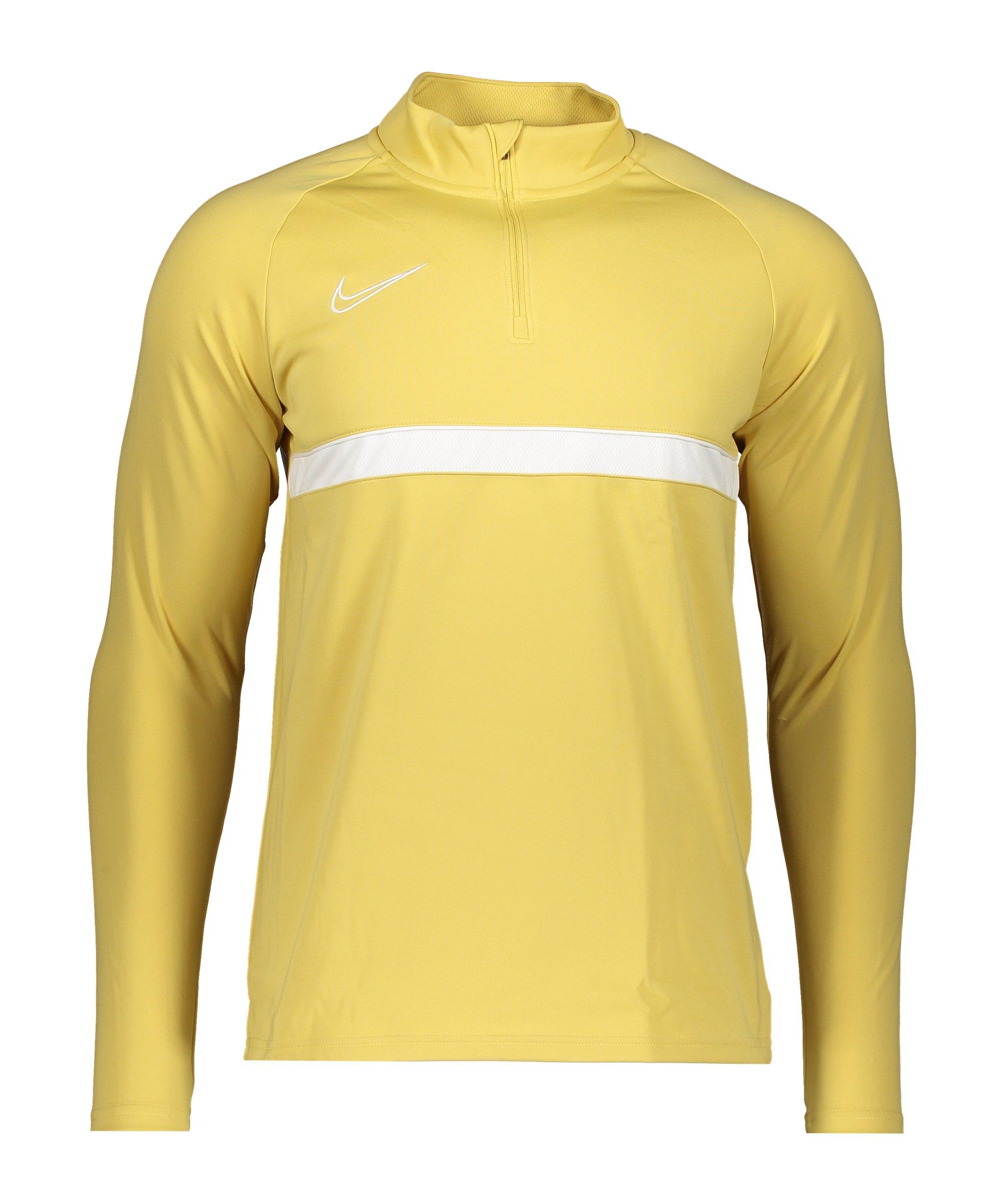 Nike Academy 21 Drill Top F700 - gelb