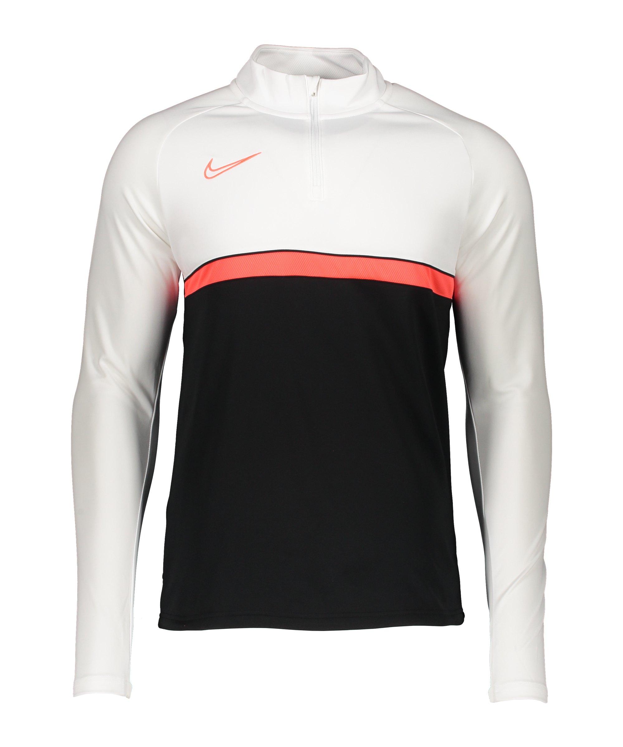 Nike Academy 21 Drill Top Schwarz F016 - schwarz