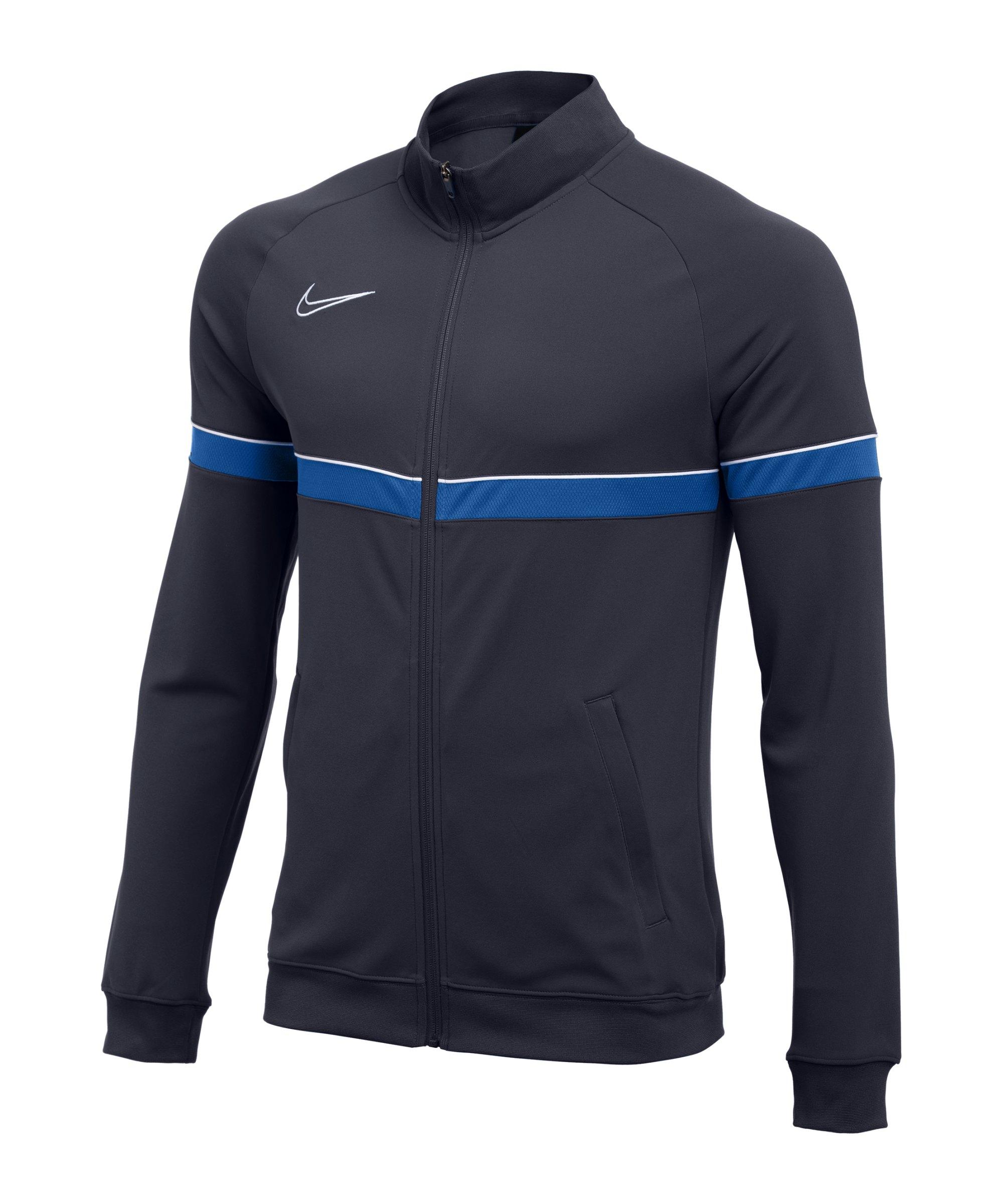Nike Academy 21 Knit Trainingsjacke Blau F453 - blau
