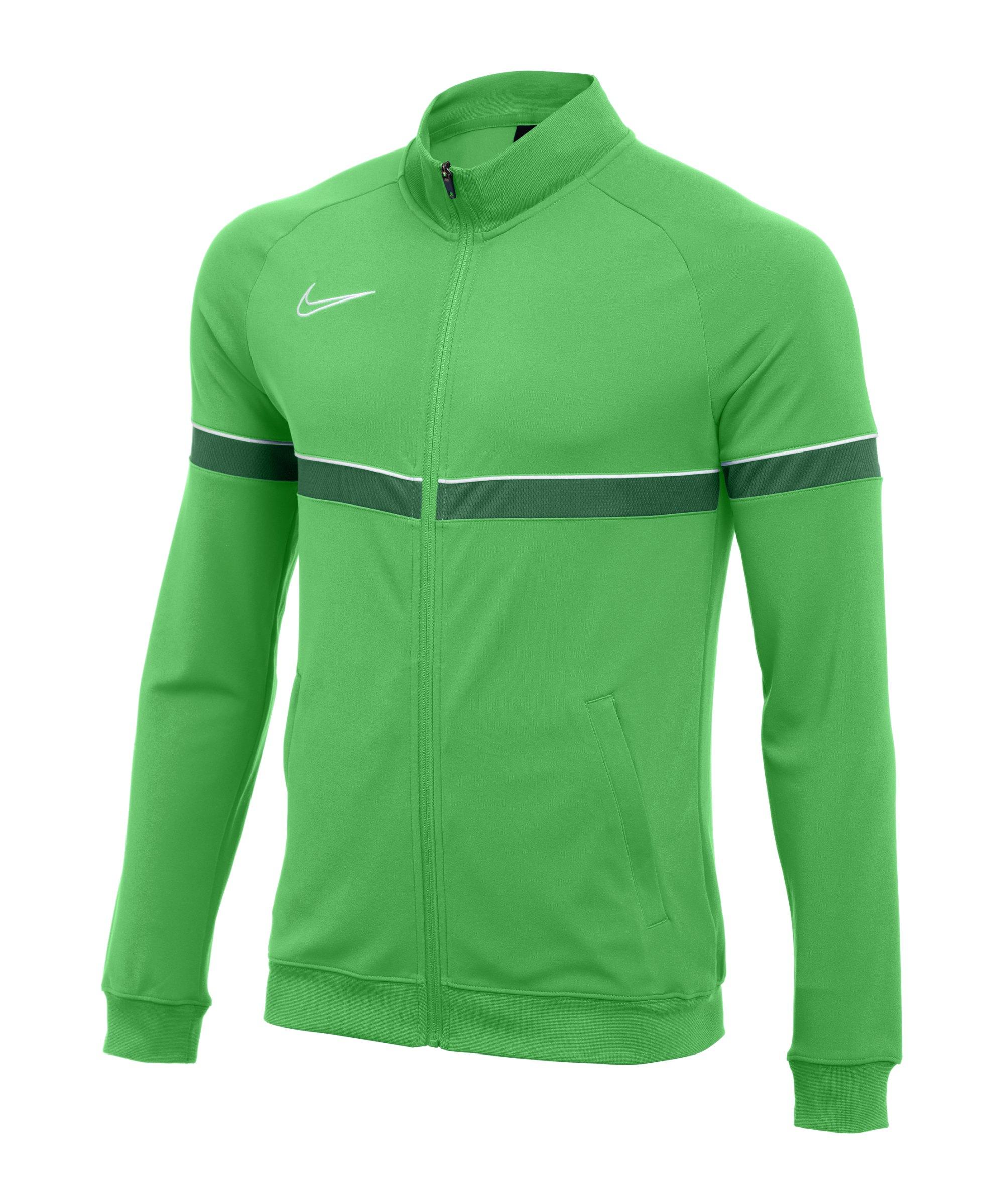 Nike Academy 21 Knit Trainingsjacke Grün F362 - gruen