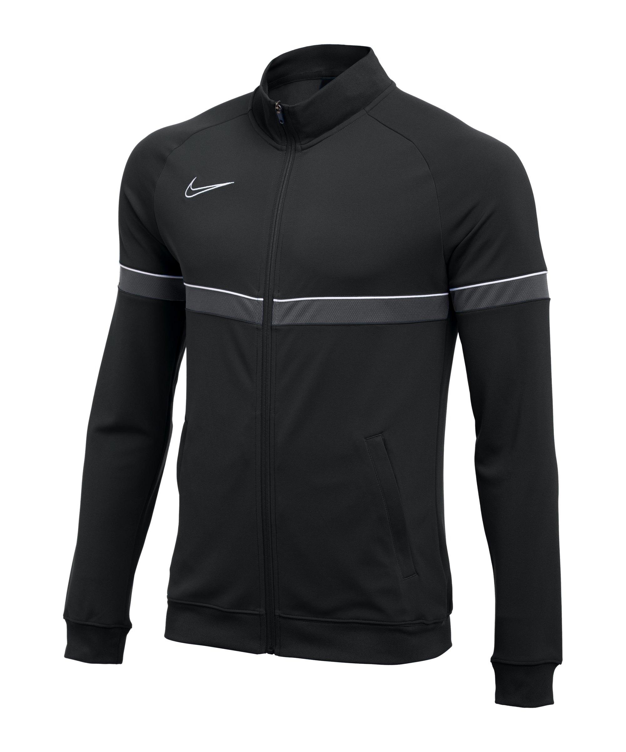 Nike Academy 21 Knit Trainingsjacke Schwarz F014 - schwarz