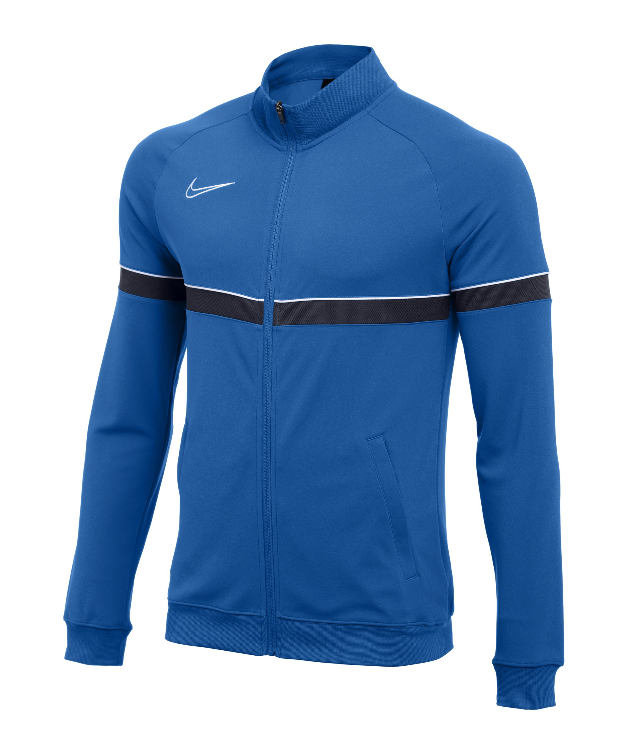 Nike Academy 21 Knit Trainingsjacke Kids Blau F463 - blau