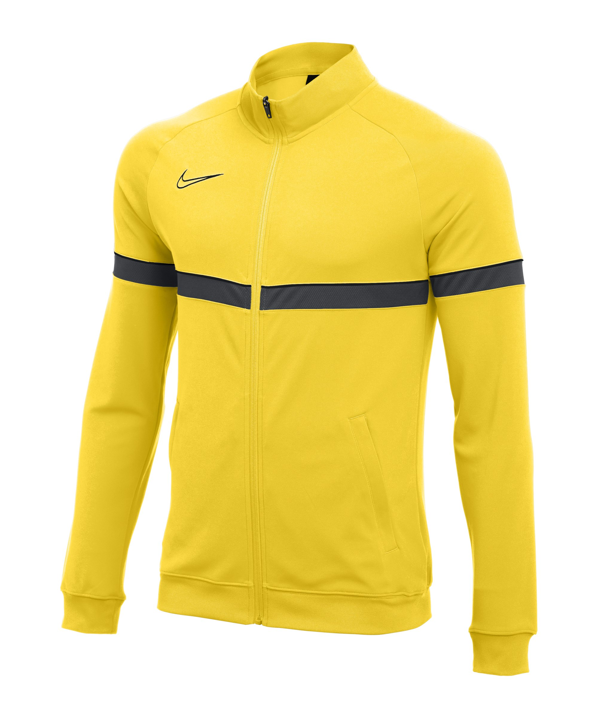 Nike Academy 21 Knit Trainingsjacke Kids Gelb F719 - gelb