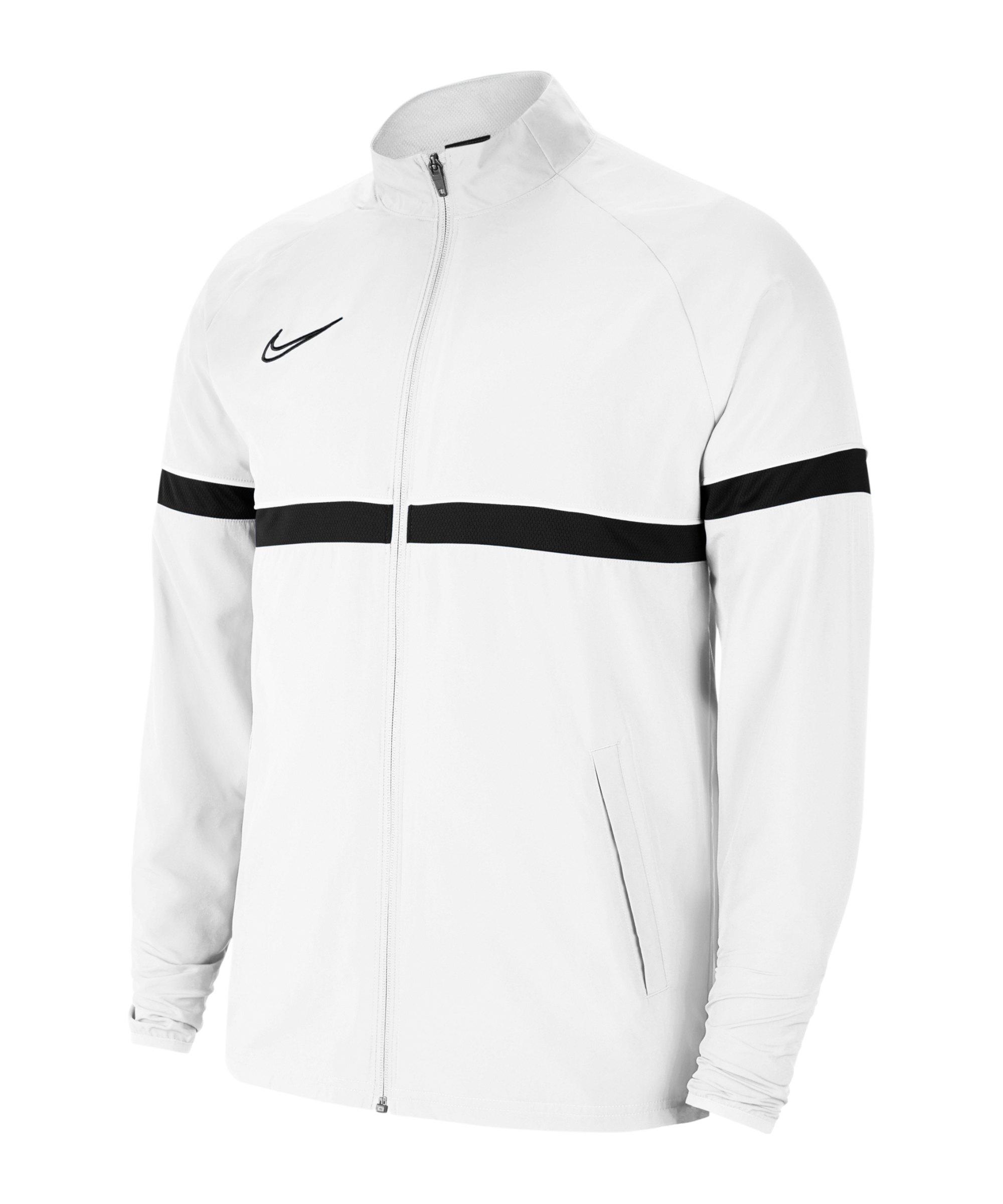 Nike Academy 21 Woven Trainingsjacke Kids F100 - weiss