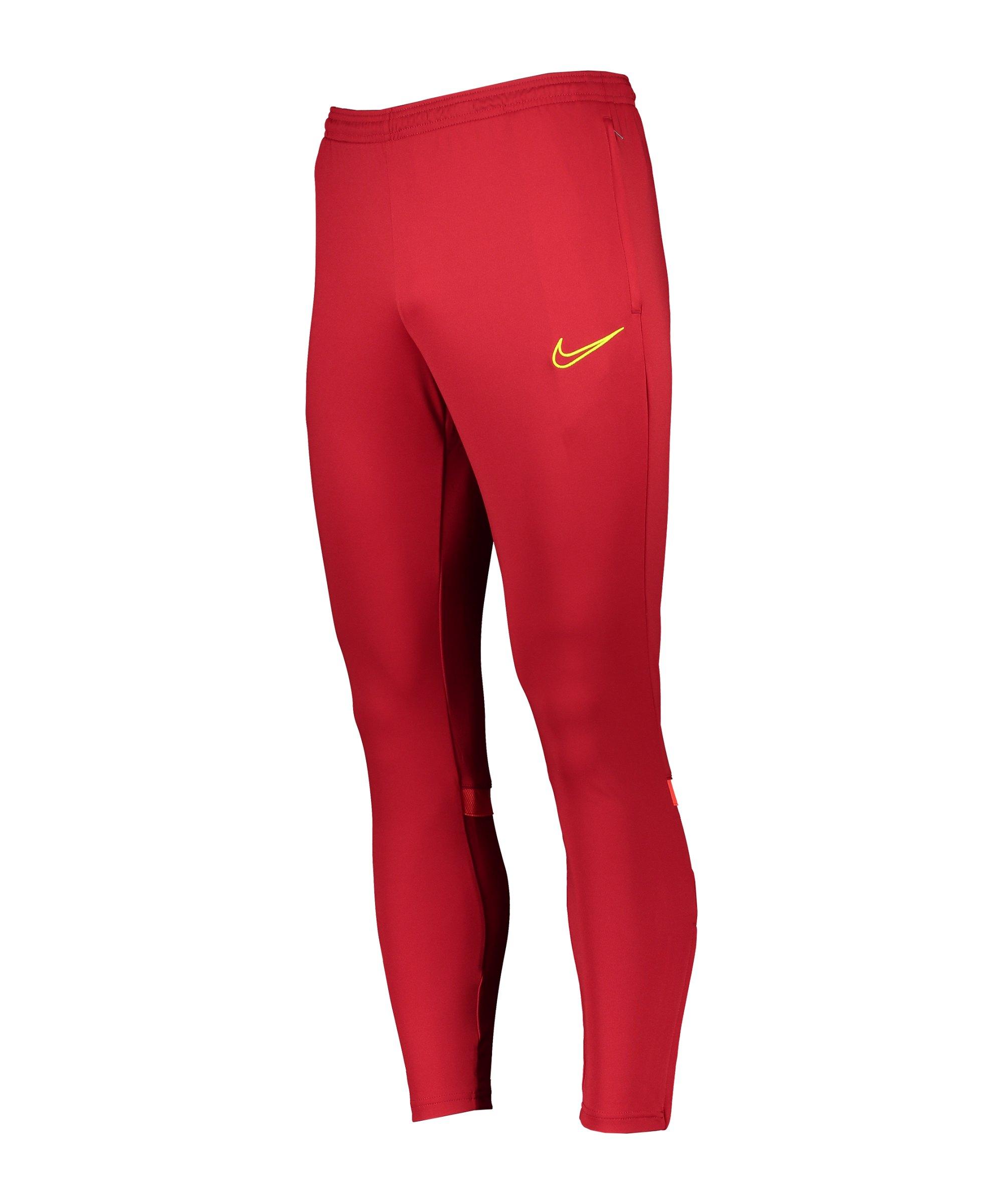 Nike Academy 21 Trainingshose Rot F687 - rot