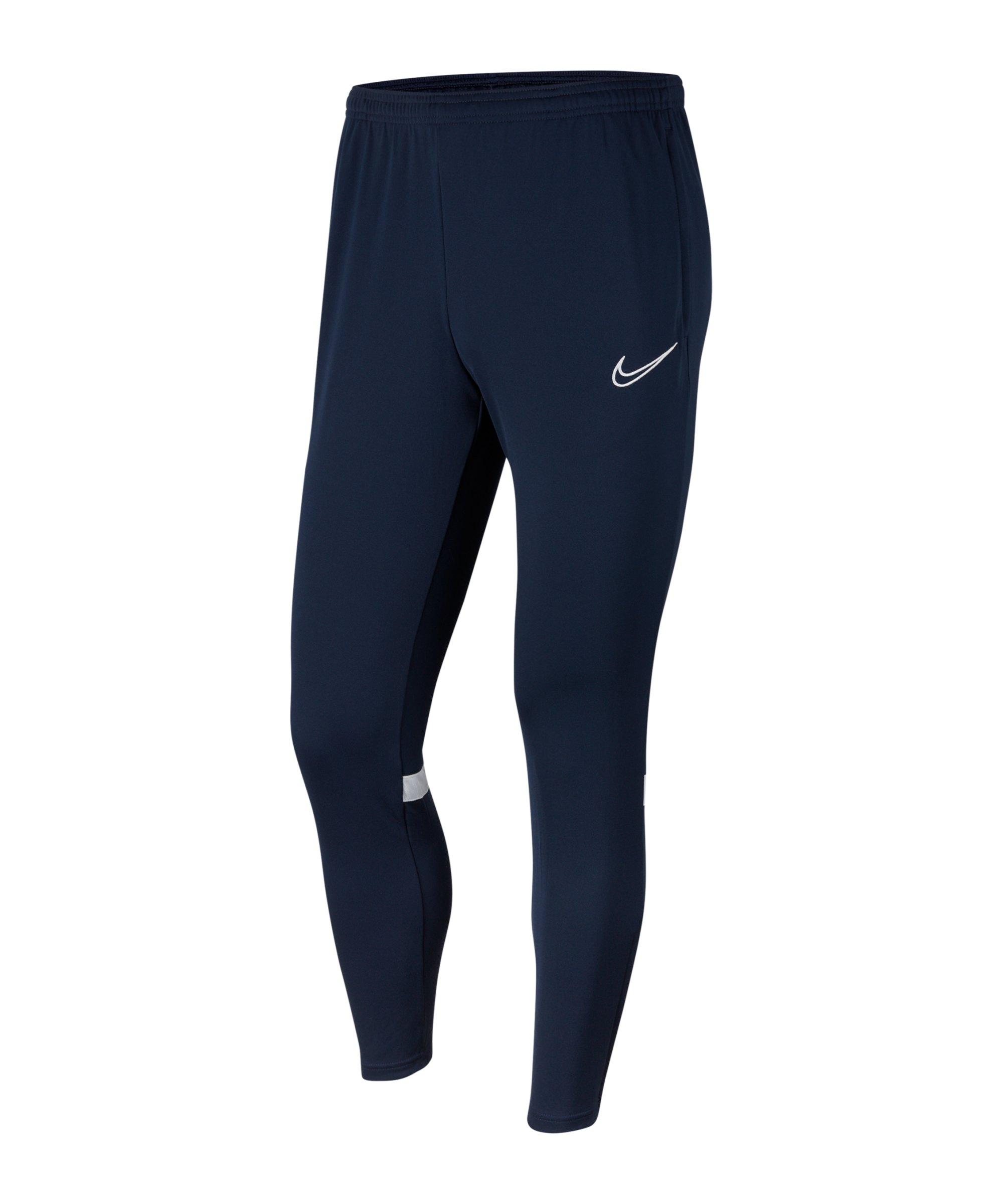Nike Academy 21 Trainingshose Kids Blau Weiss F451 - blau