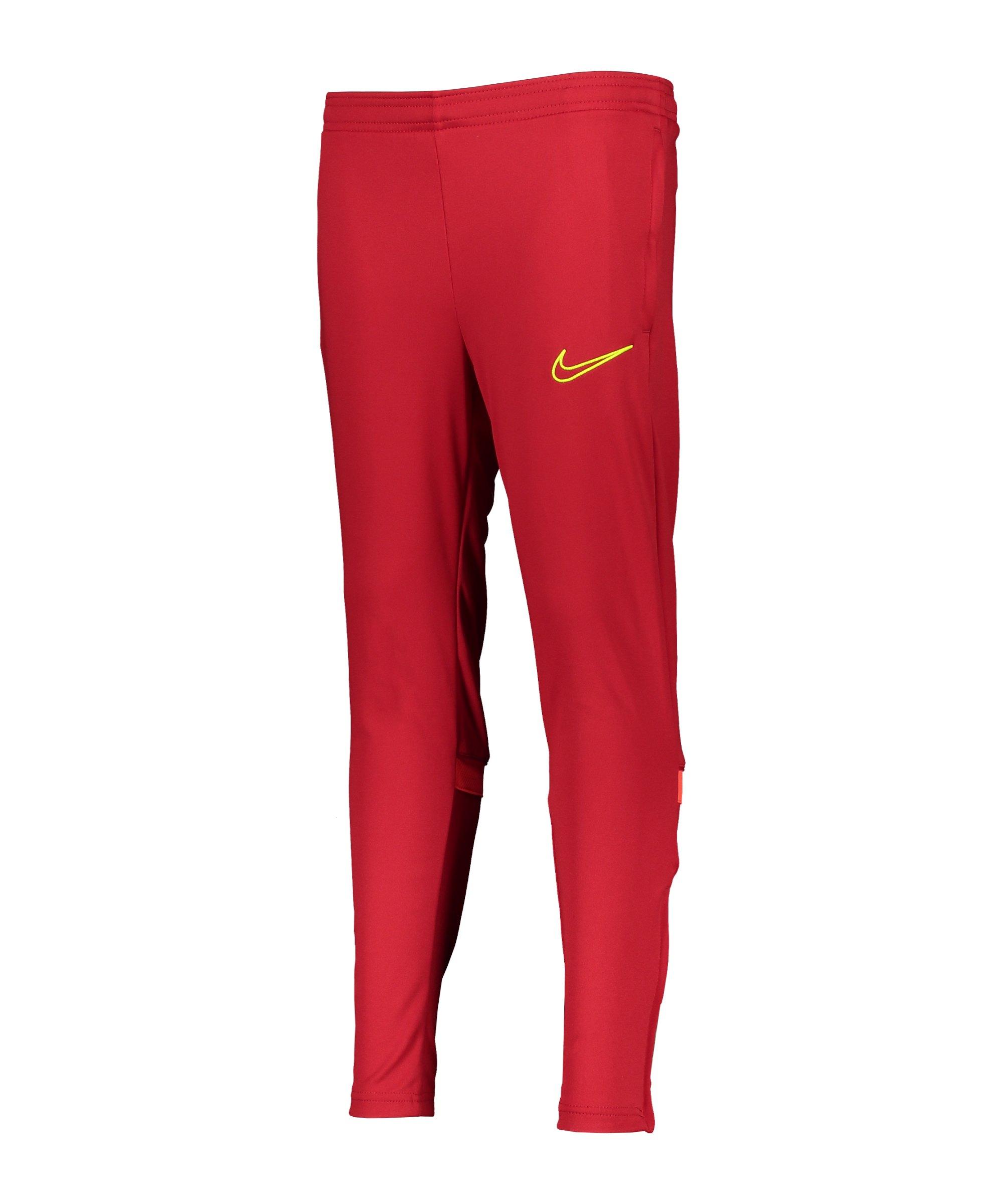 Nike Academy 21 Trainingshose Kids Rot F687 - rot