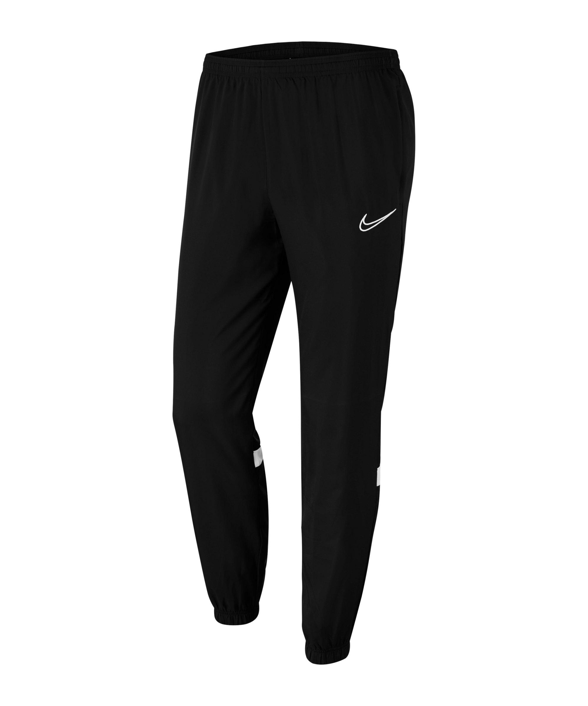 Nike Academy 21 Woven Trainingshose Schwarz F010 - schwarz