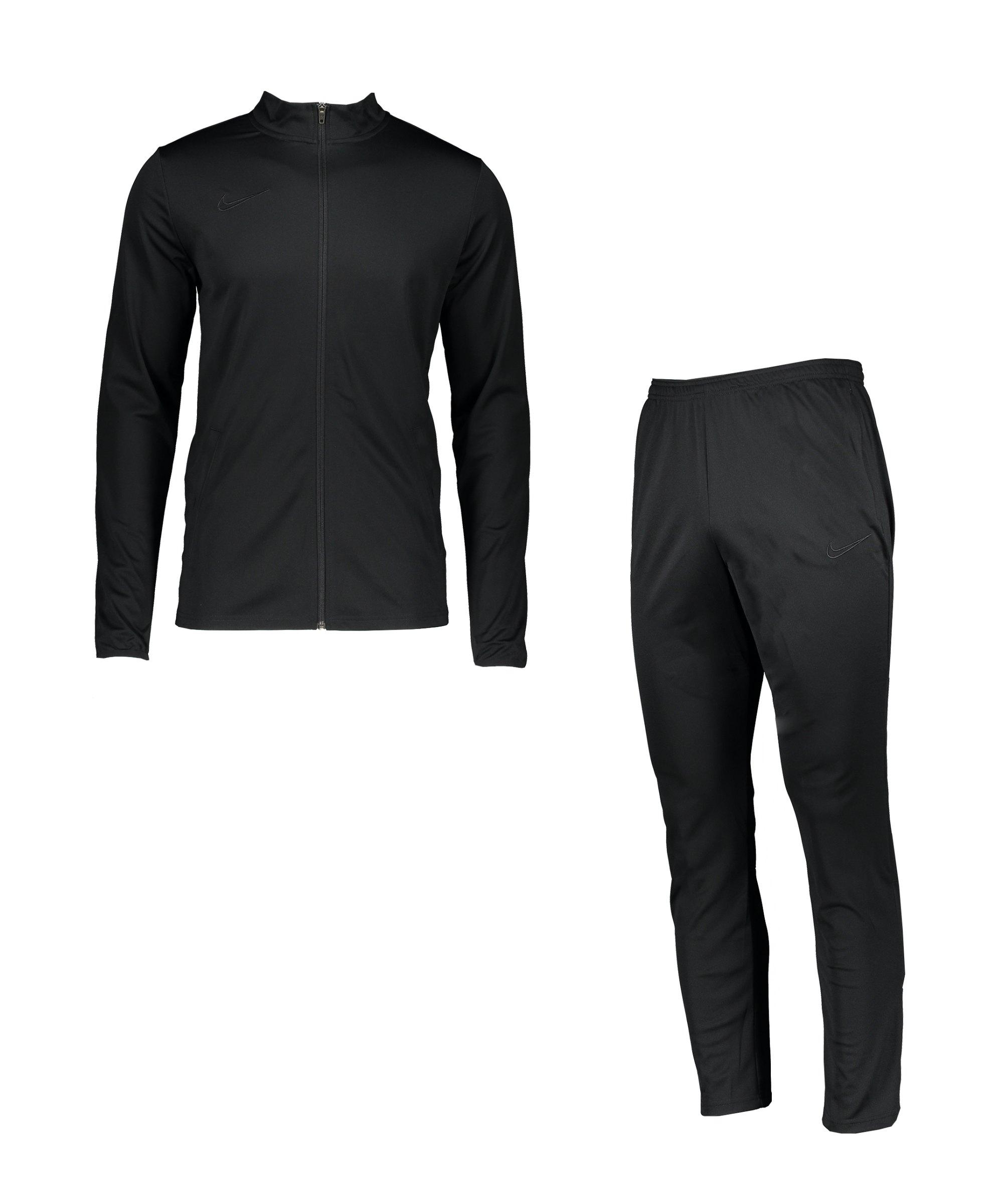 Nike Academy 21 Trainingsanzug Schwarz F011 - schwarz