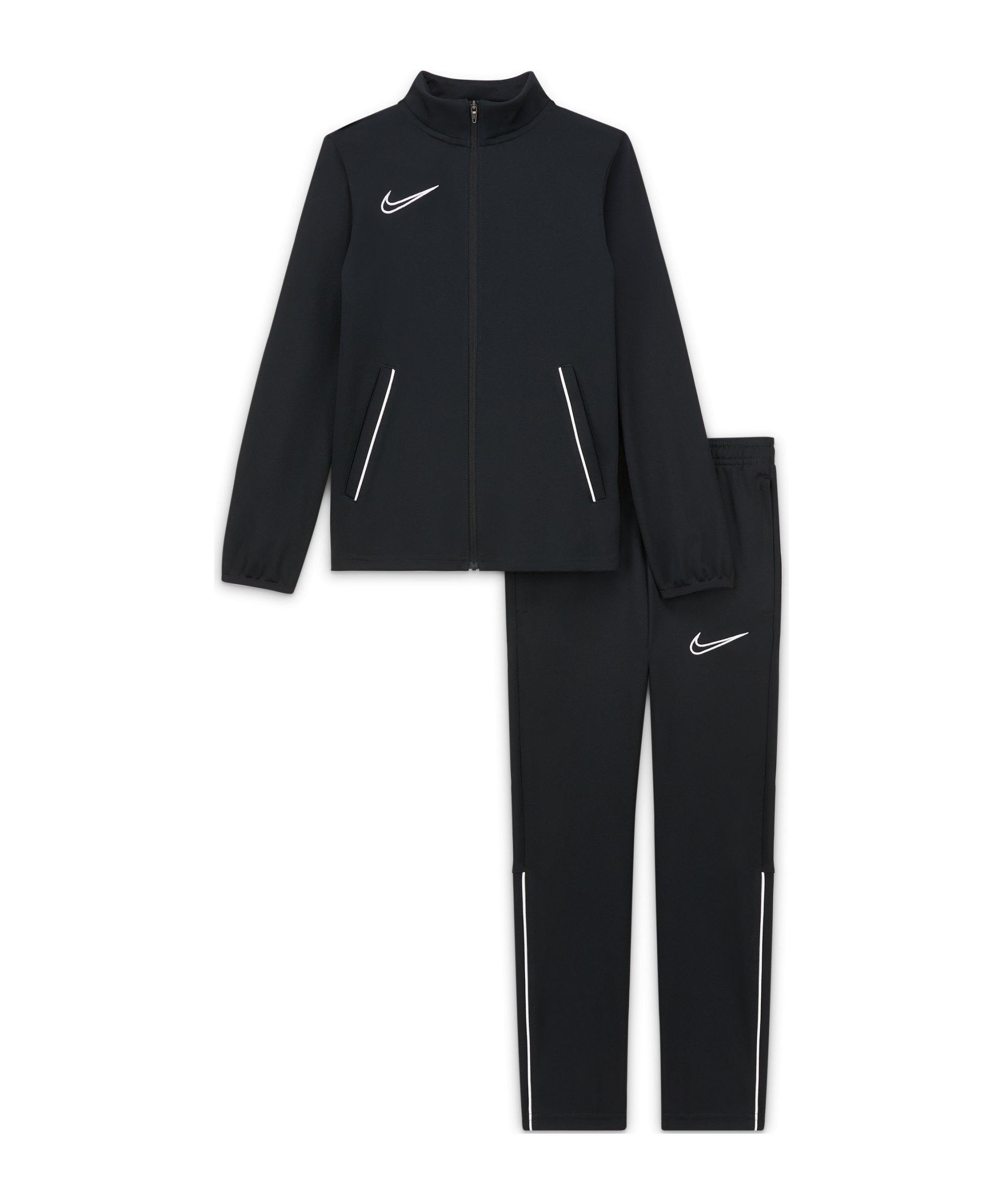Nike Academy 21 Trainingsanzug Kids F010 - schwarz