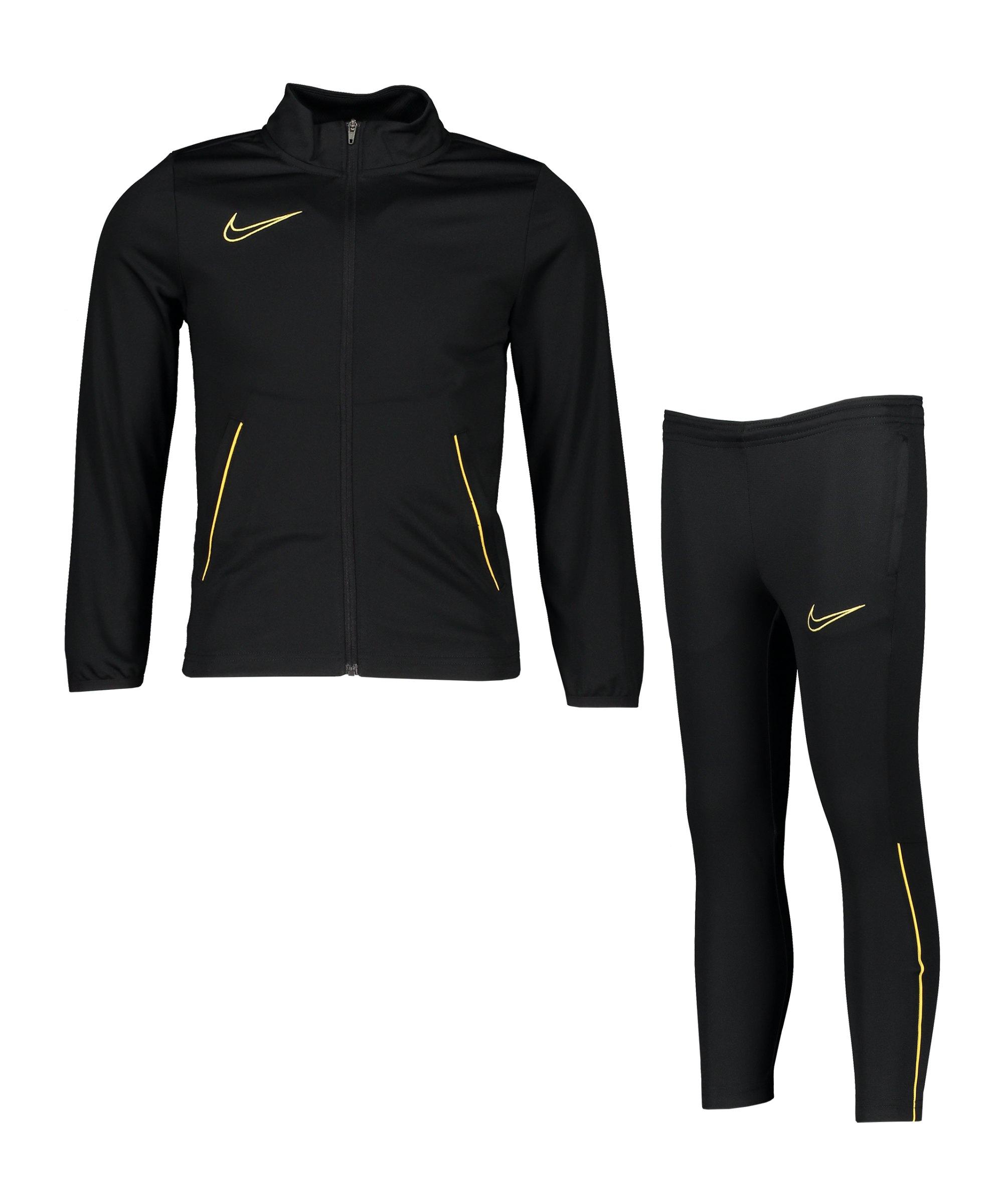 Nike Academy 21 Trainingsanzug Kids F014 - schwarz