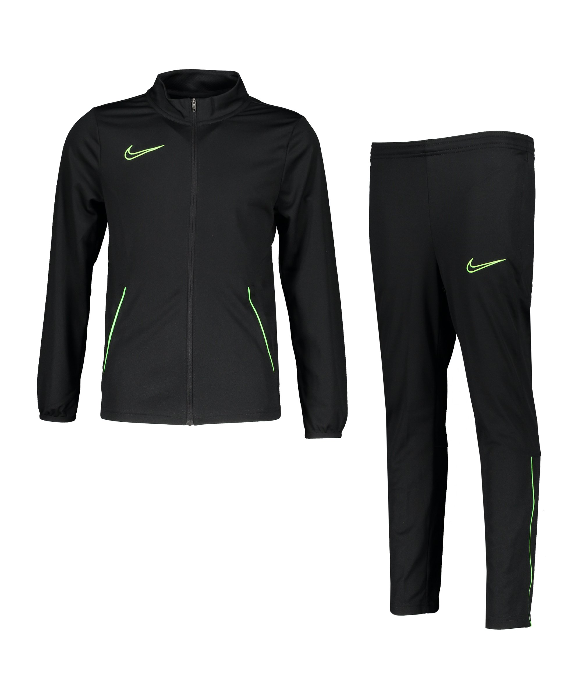 Nike Dri-Fit Academy 21 Trainingsanzug Kids F013 - schwarz