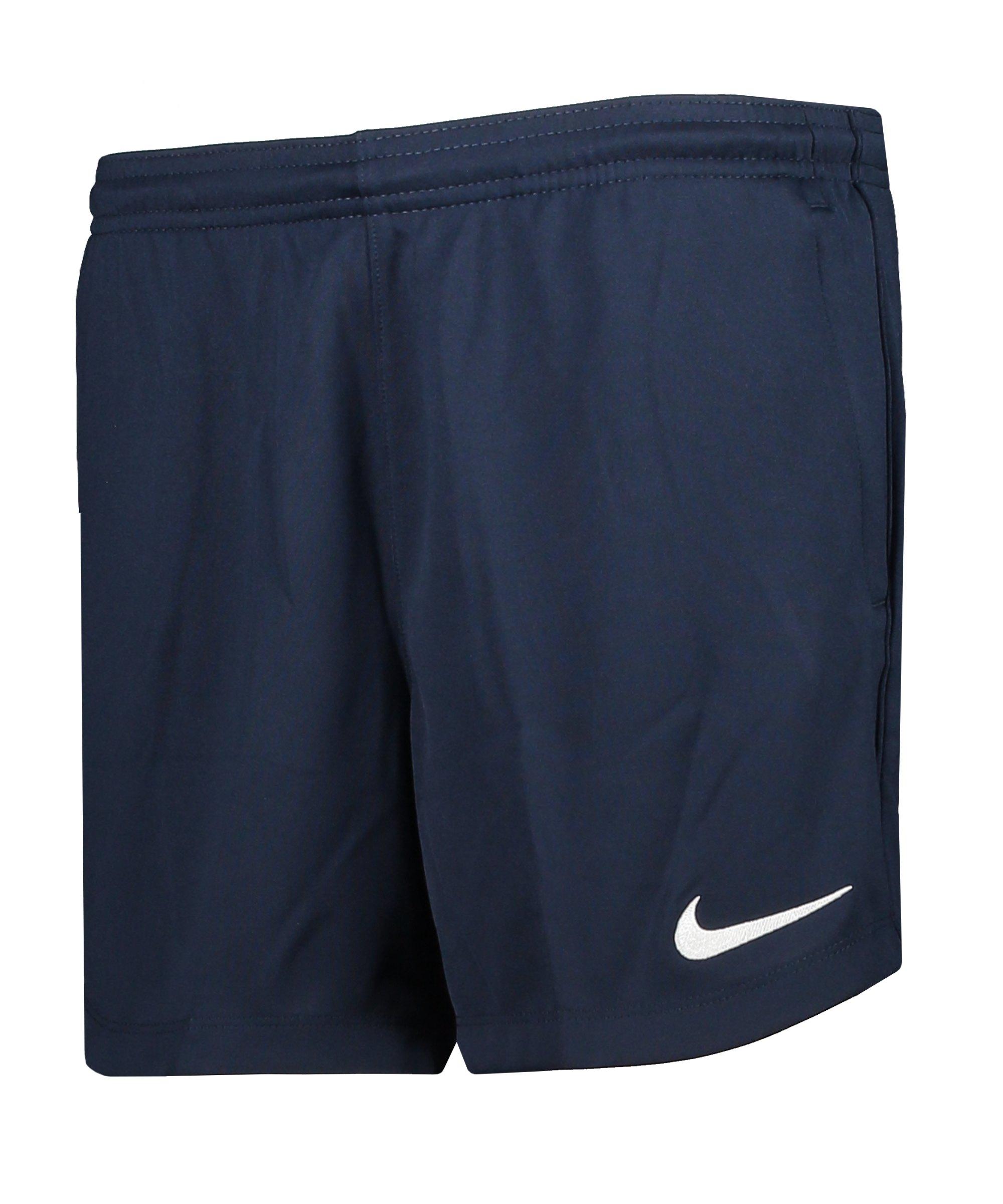 Nike Park 20 Knit Short Damen Blau Weiss F451 - blau