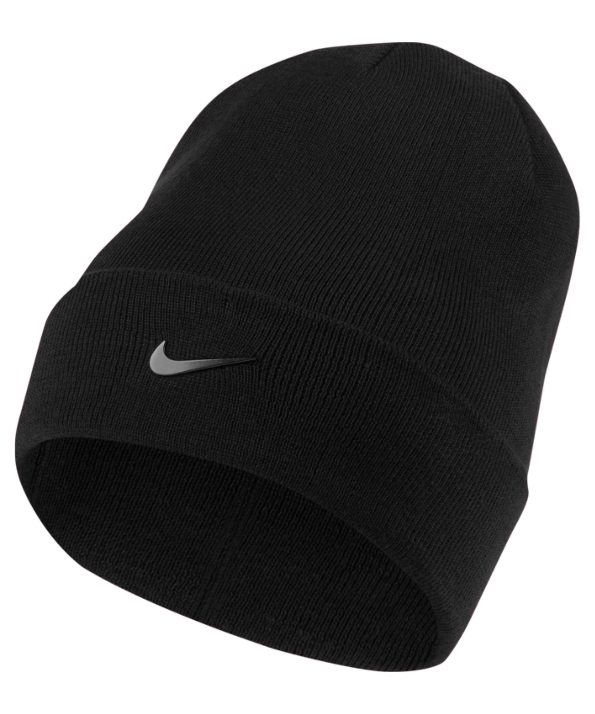 Nike Swoosh Beanie Schwarz F010 - schwarz
