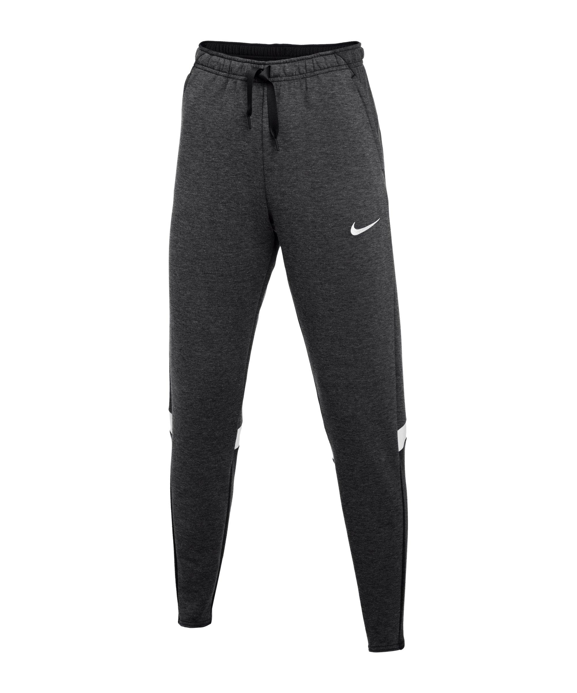 Nike Strike 21 Fleece Trainingshose Schwarz F011 - grau