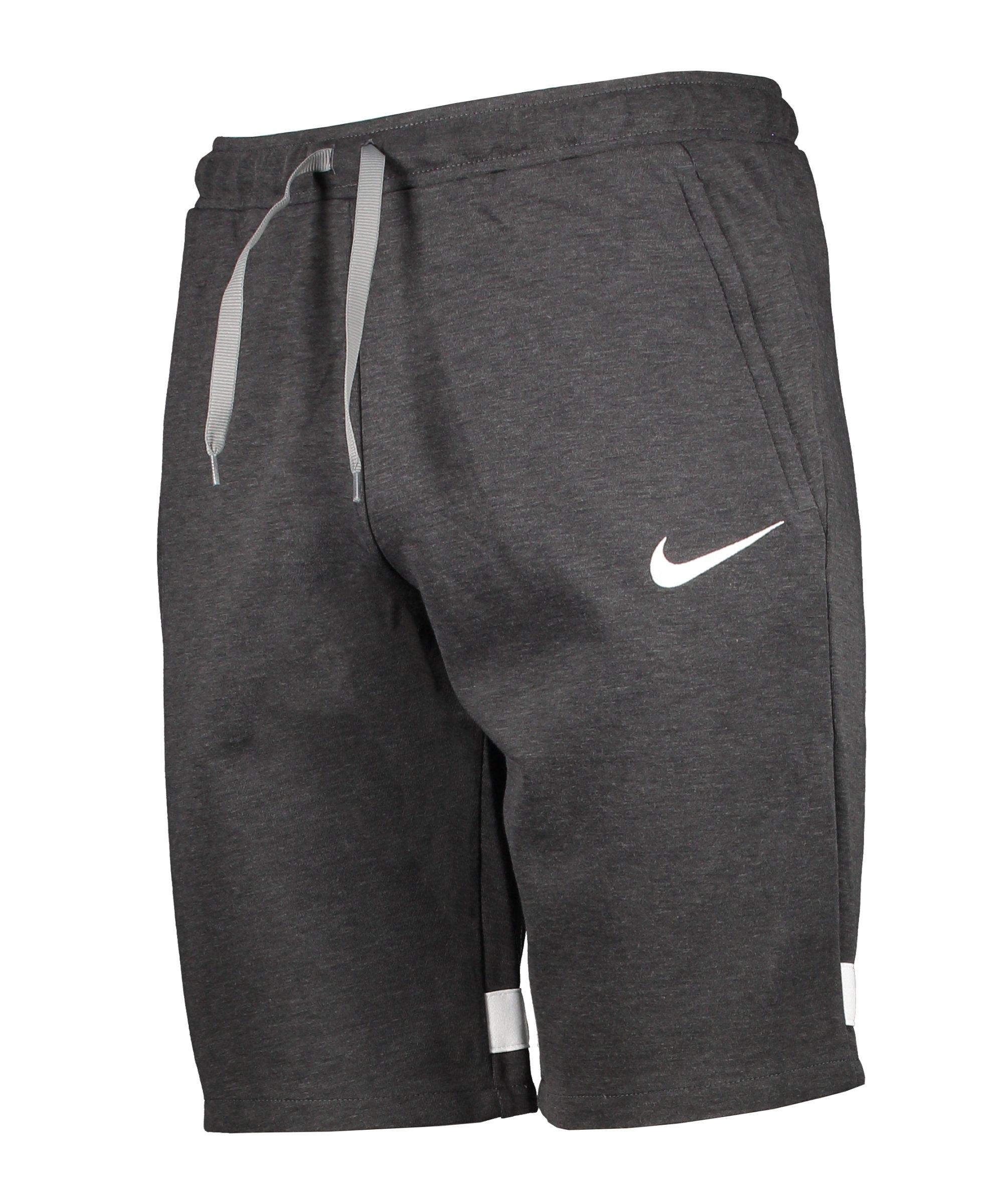 Nike Strike 21 Fleece Short Grau Weiss F011 - grau