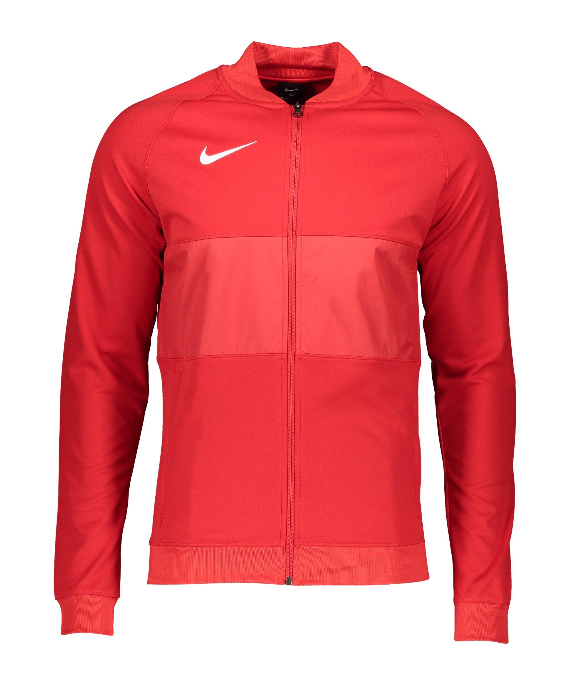 Nike Strike 21 Anthem Jacke Rot Weiss F657 - rot