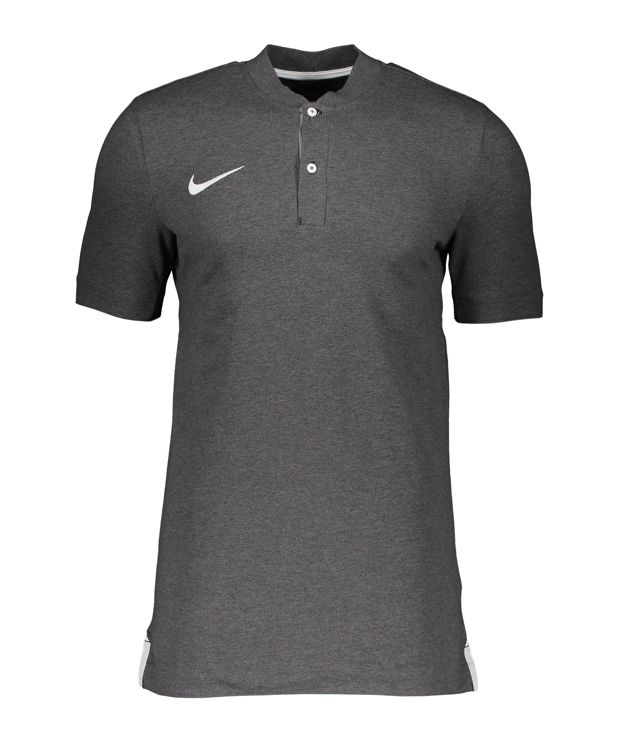 Nike Strike Poloshirt Grau Weiss F071 - grau