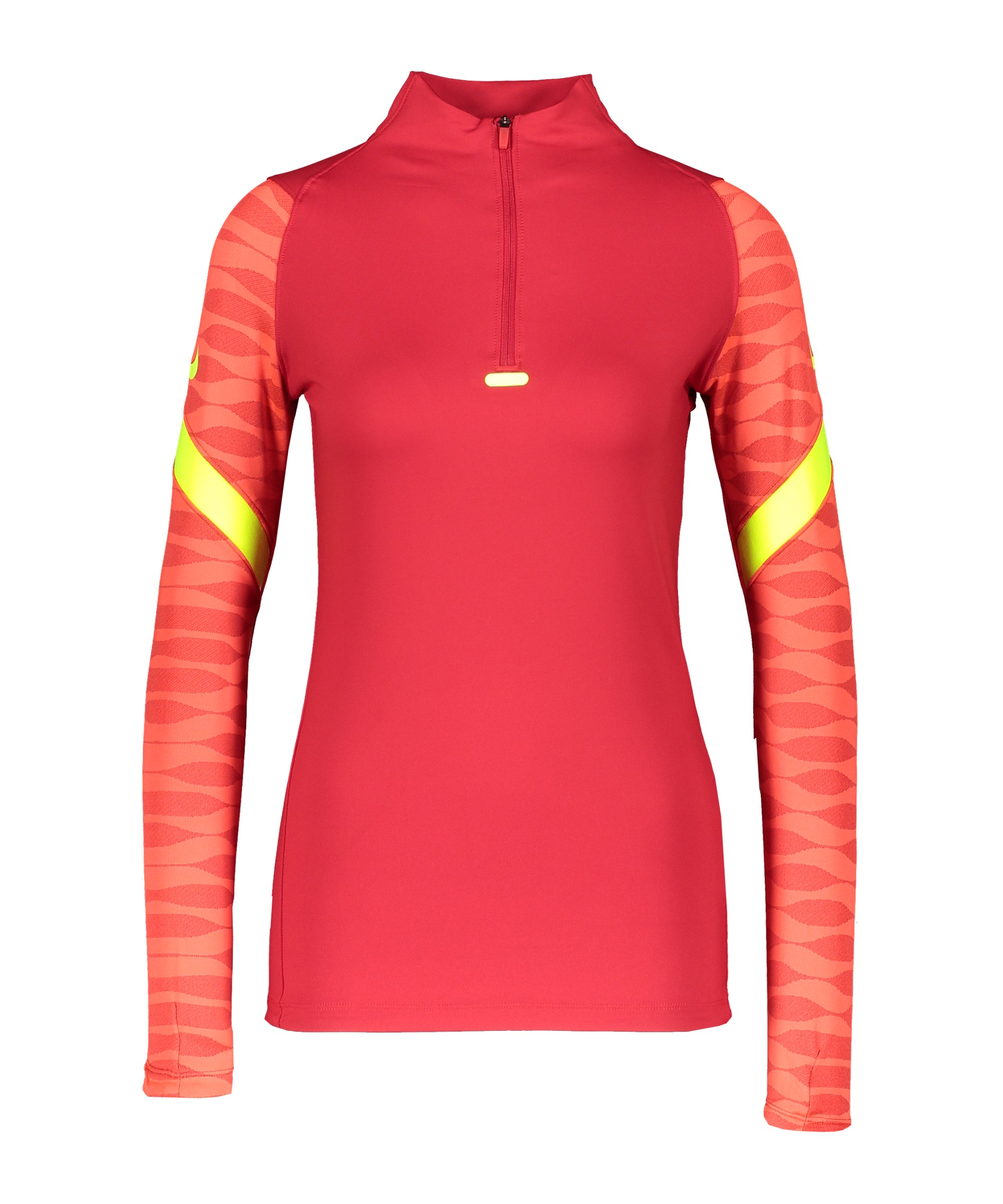 Nike Strike 21 Drill Top Damen Rot F687 - rot