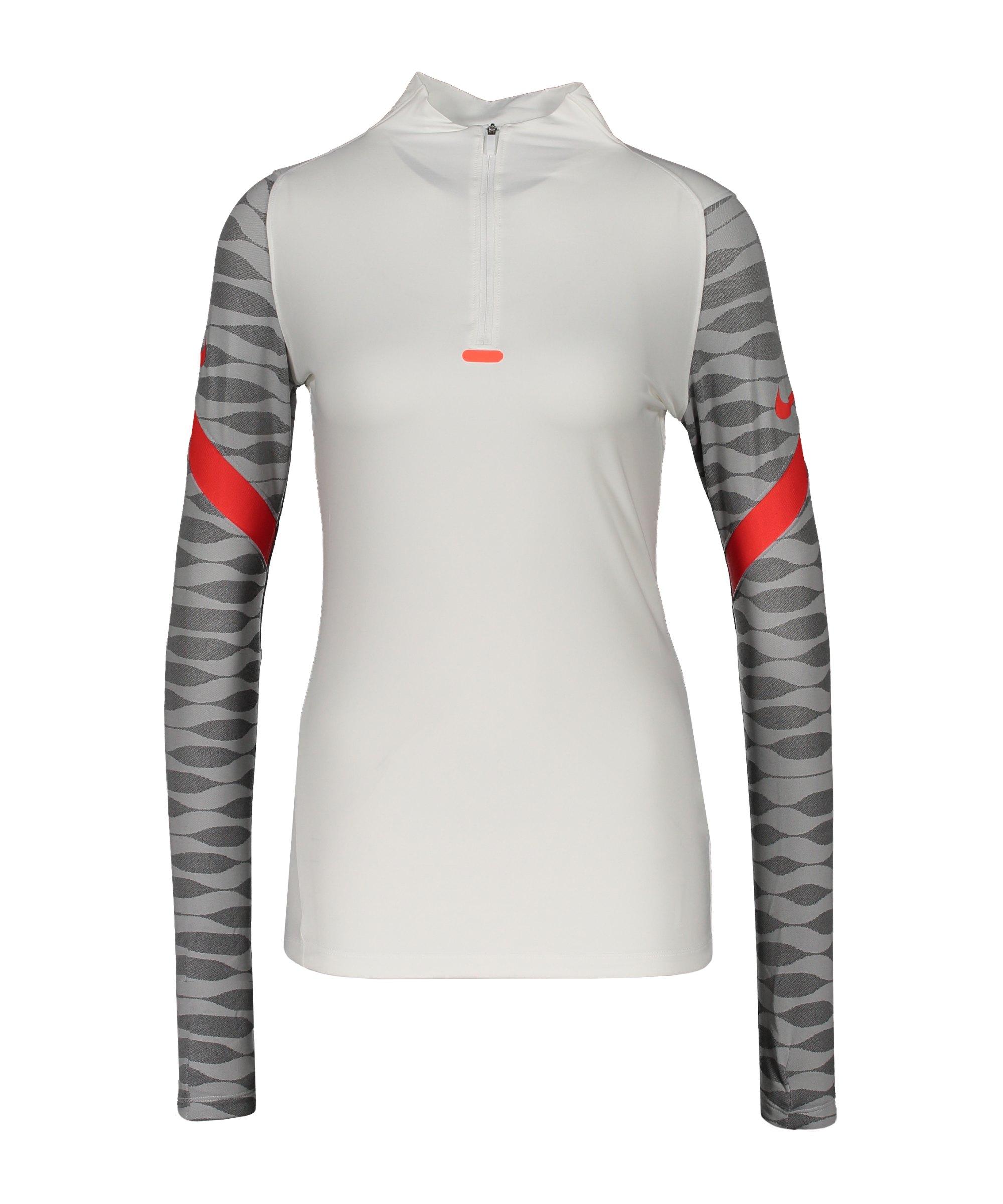 Nike Strike 21 Drill Top Damen Weiss F101 - weiss