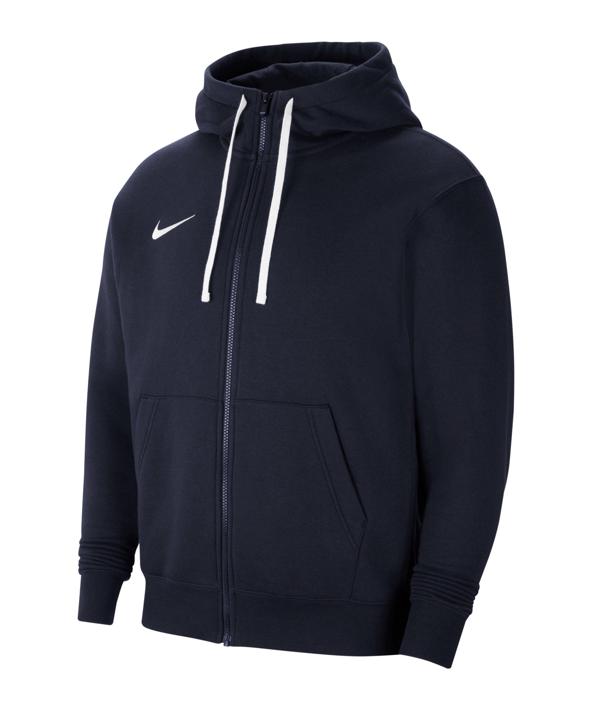 Nike Park 20 Fleece Kapuzenjacke Blau F451 - blau