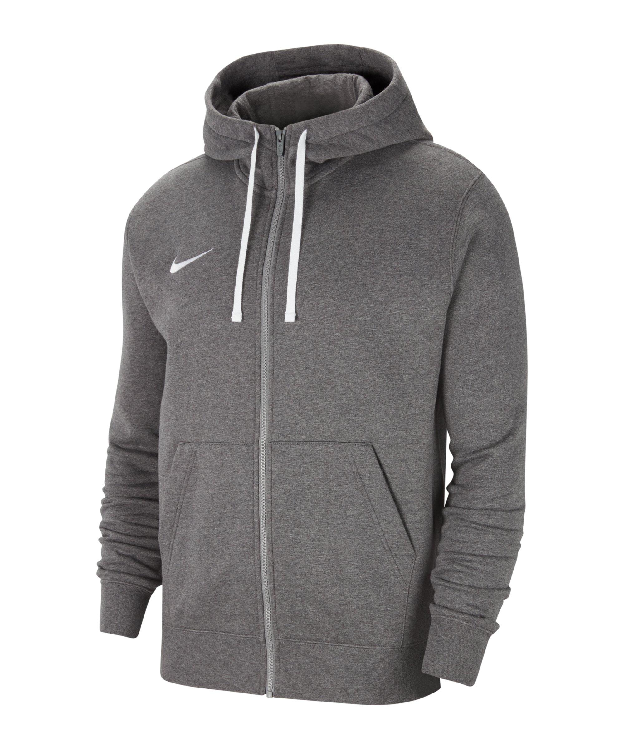 Nike Park 20 Fleece Kapuzenjacke Grau F071 - grau