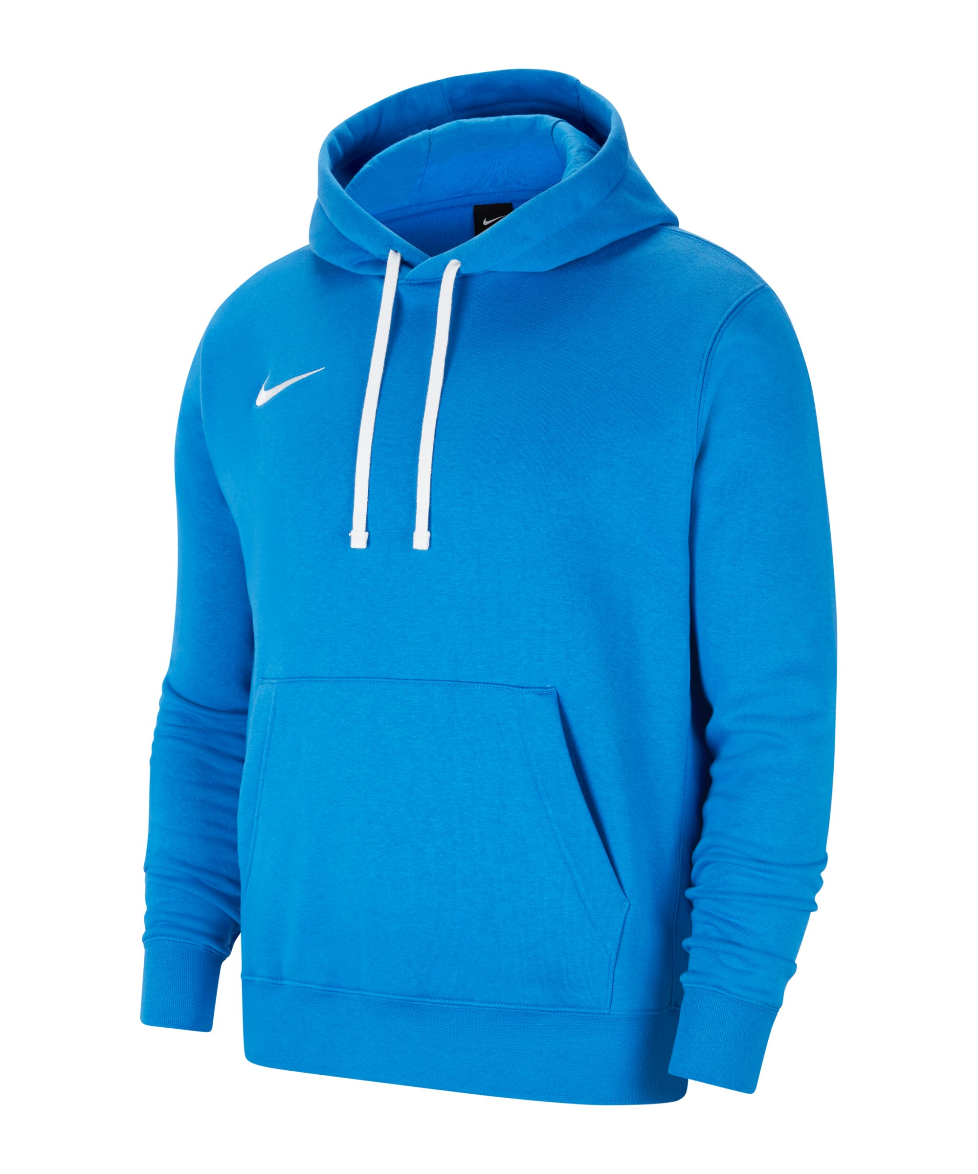 Nike Park 20 Fleece Hoody Blau Weiss F463 - blau