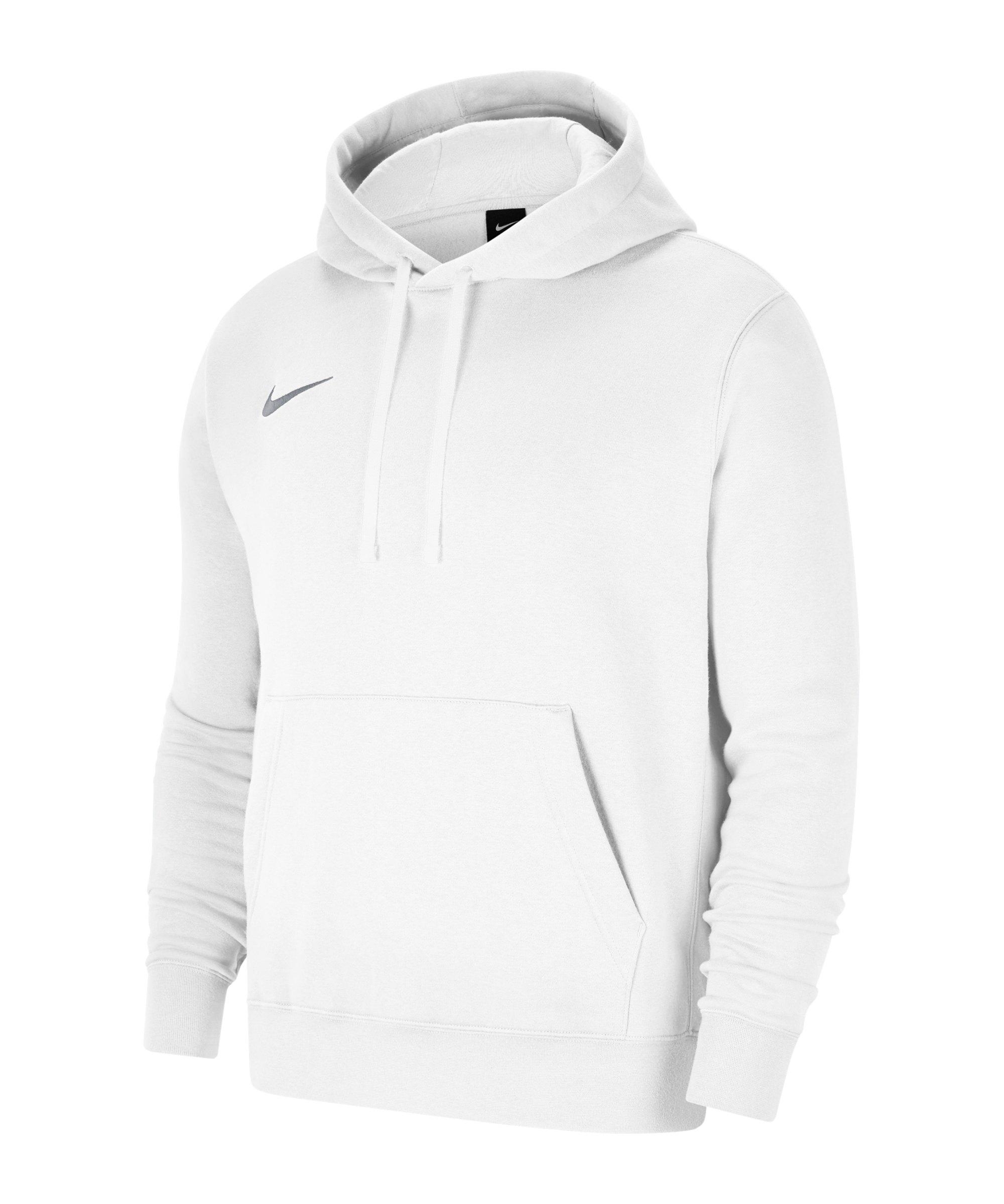 Nike Park 20 Fleece Hoody Weiss Grau F101 - weiss