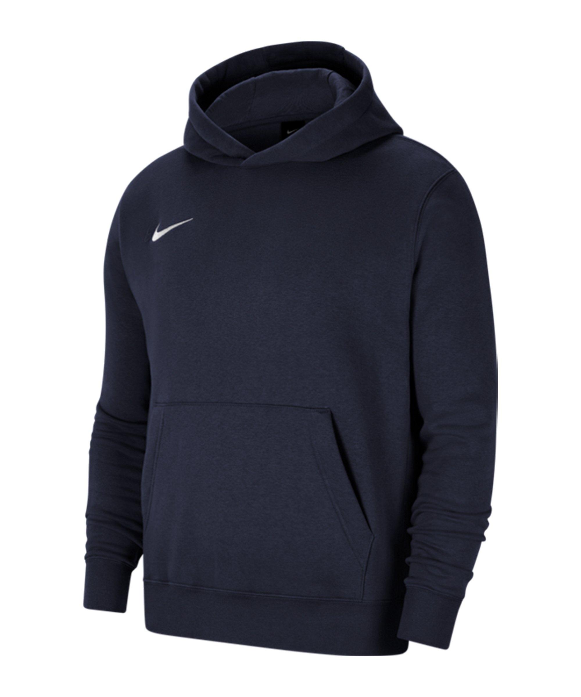 Nike Park 20 Fleece Hoody Kids Blau Weiss F451 - blau