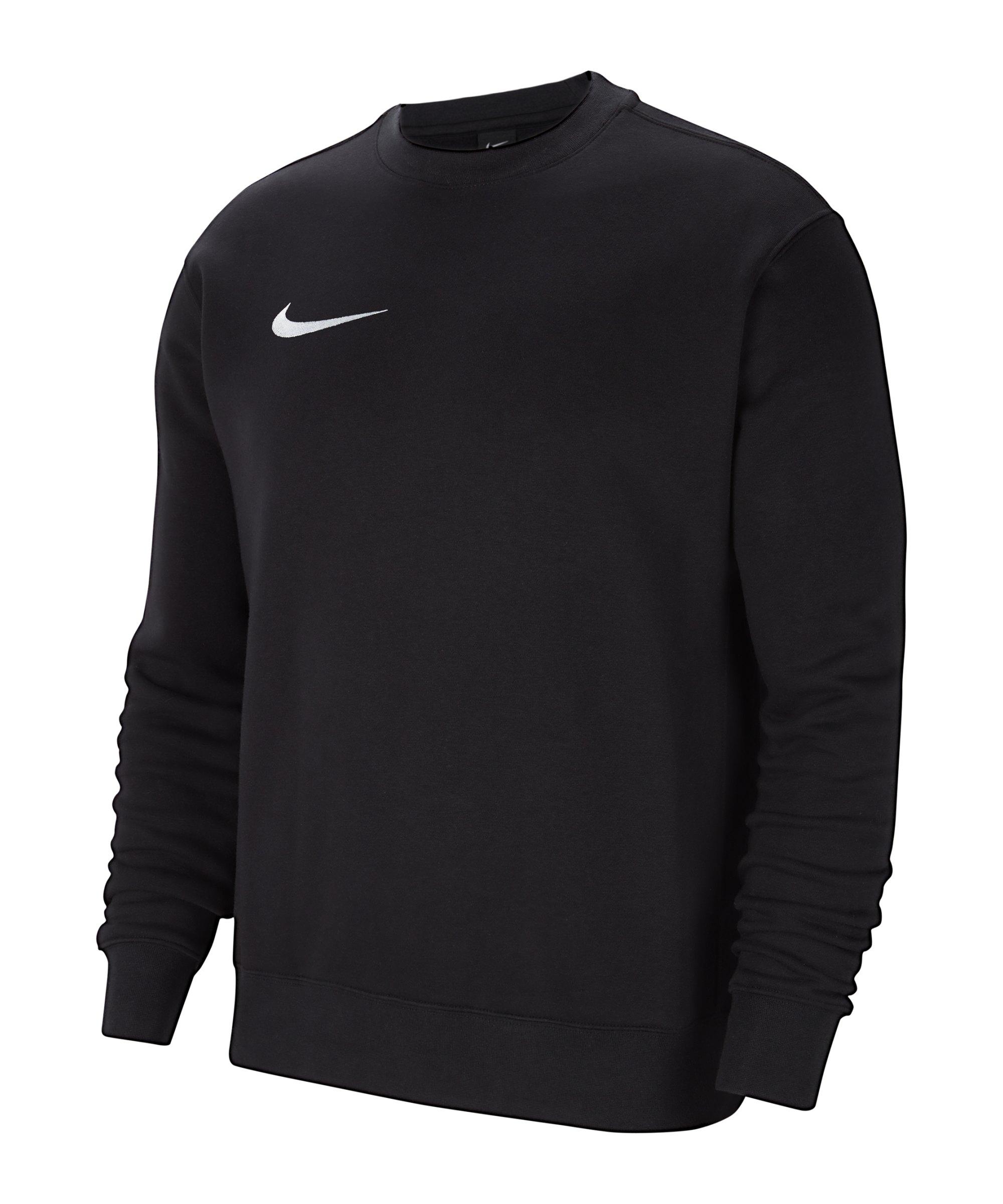 Nike Park 20 Fleece Sweatshirt Kids Schwarz F010 - schwarz
