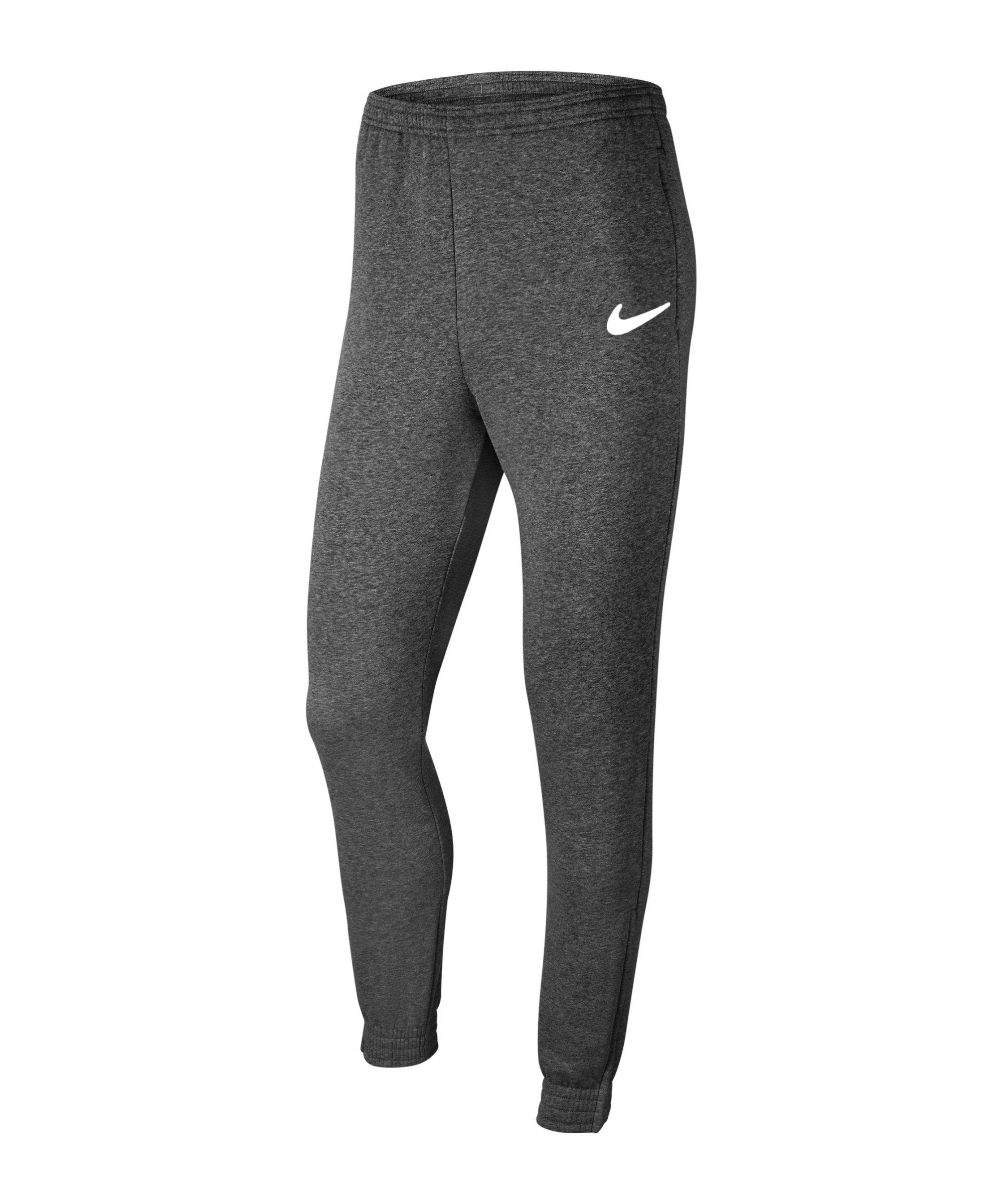 Nike Park 20 Fleece Jogginghose Grau Weiss F071 - grau