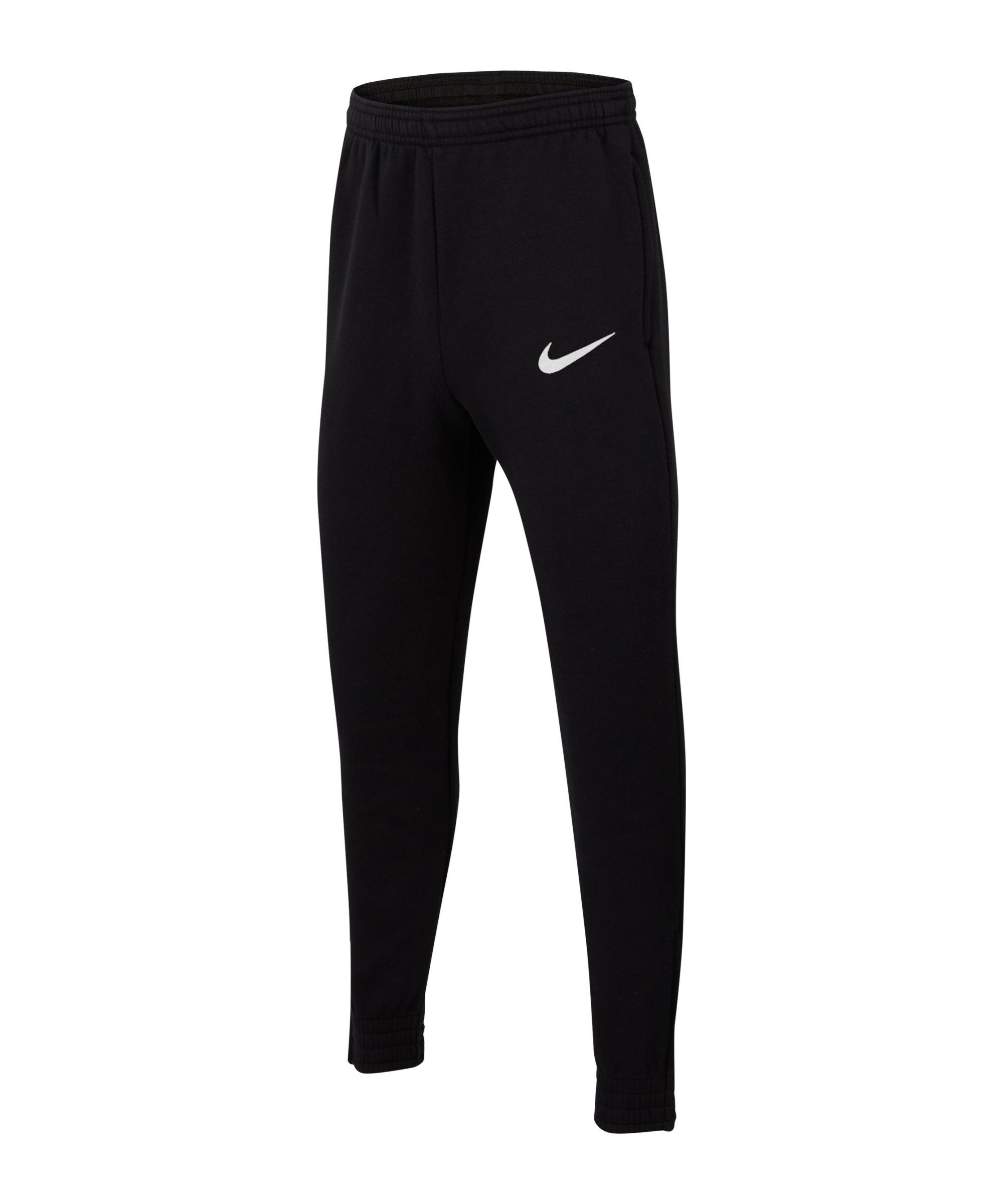 Nike Park 20 Fleece Jogginghose Kids Schwarz F010 - schwarz
