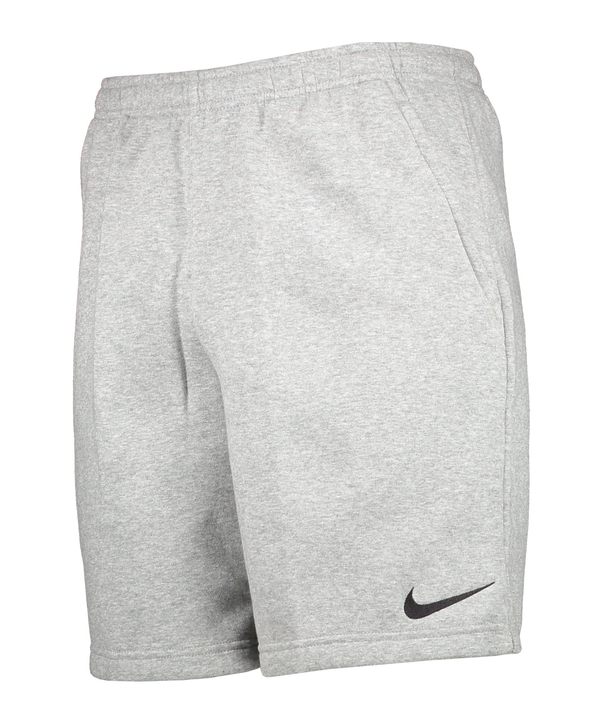 Nike Park 20 Fleece Short Grau Schwarz F063 - grau
