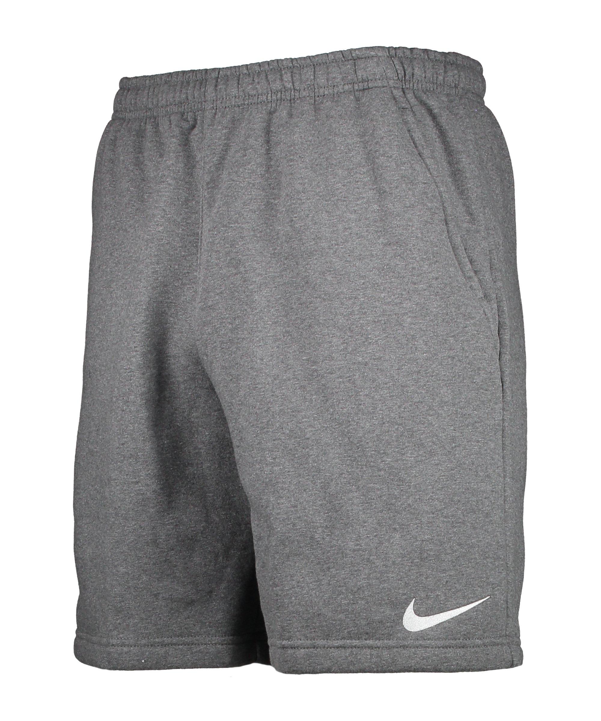 Nike Park 20 Fleece Short Grau Weiss F071 - grau