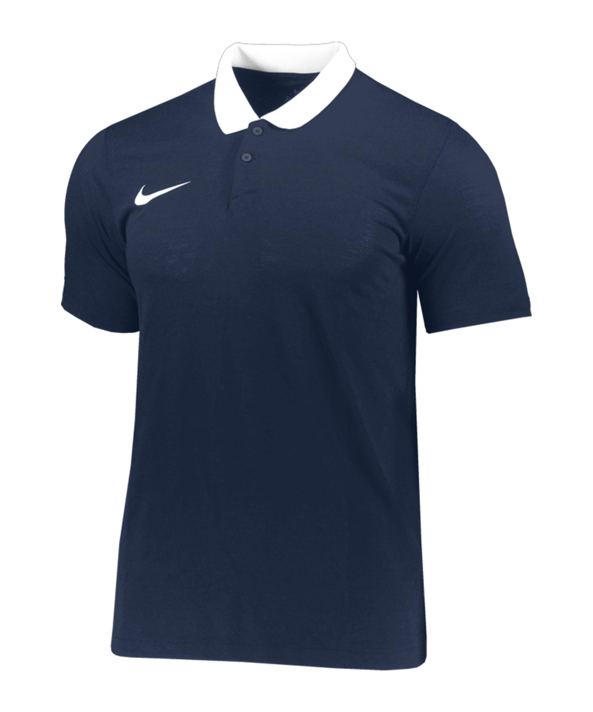 Nike Park 20 Poloshirt Blau Weiss F451 - blau