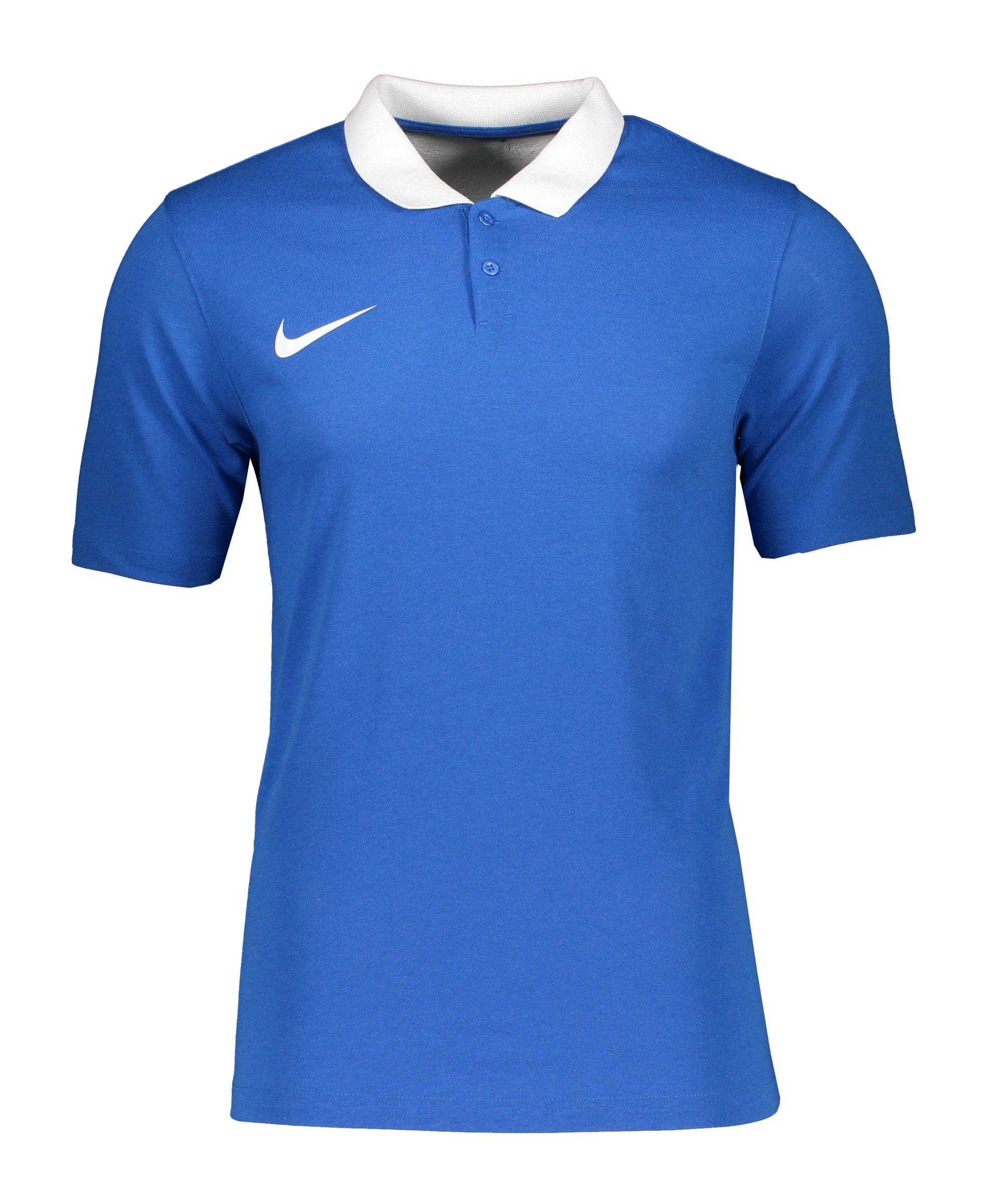 Nike Park 20 Poloshirt Blau Weiss F463 - blau