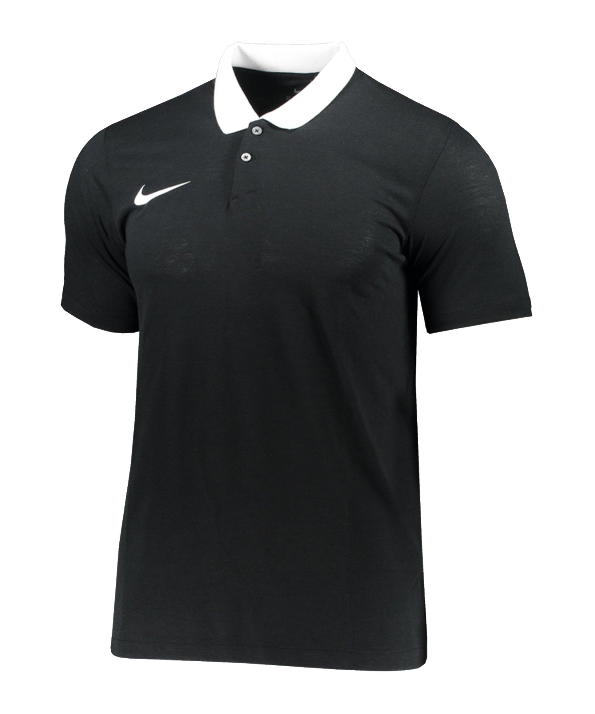 Nike Park 20 Polo Kids Schwarz Weiss F010 - schwarz